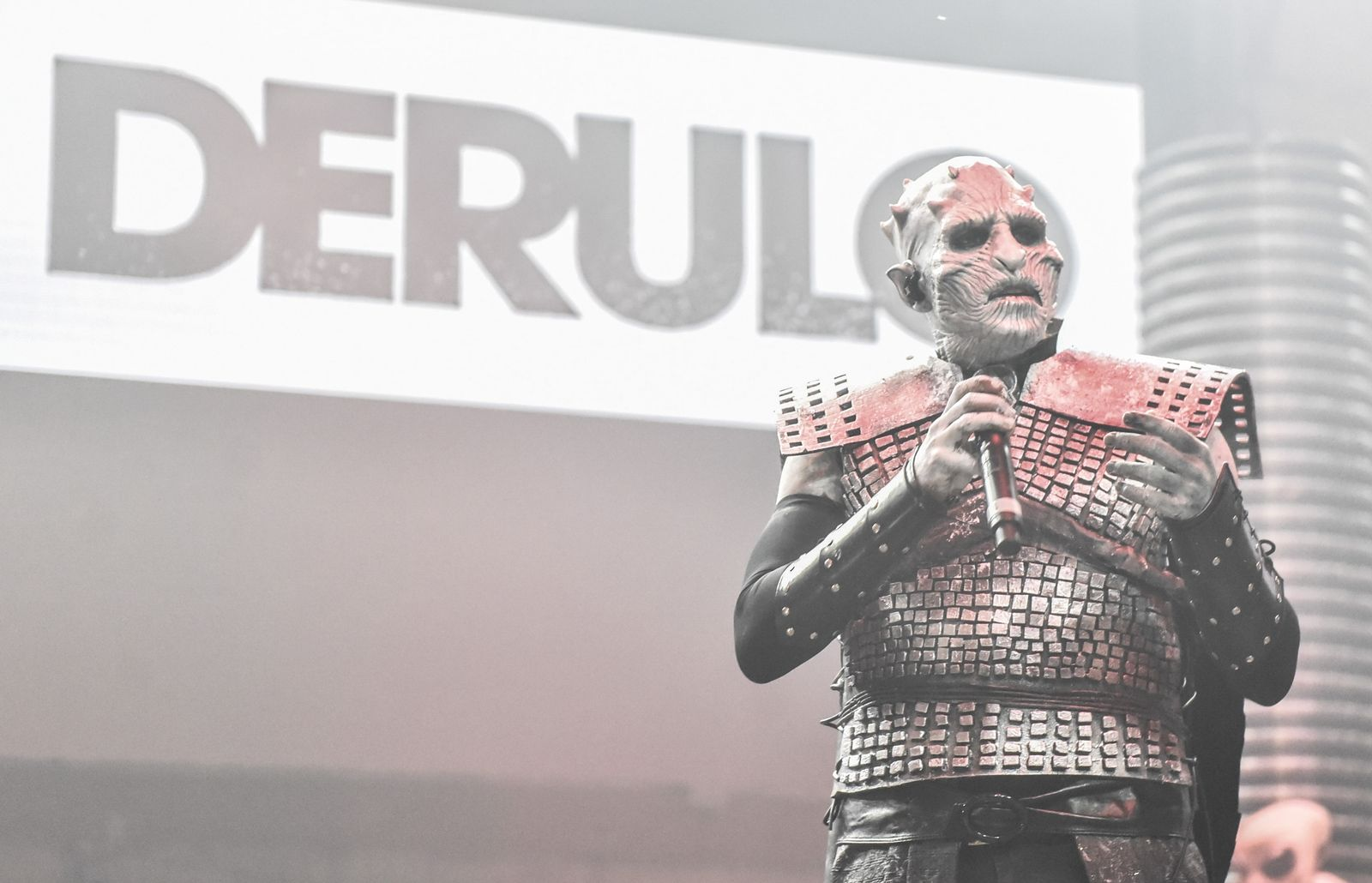 Jason derulo - as The Night King from Game of Thrones (photo cred: Esquire)