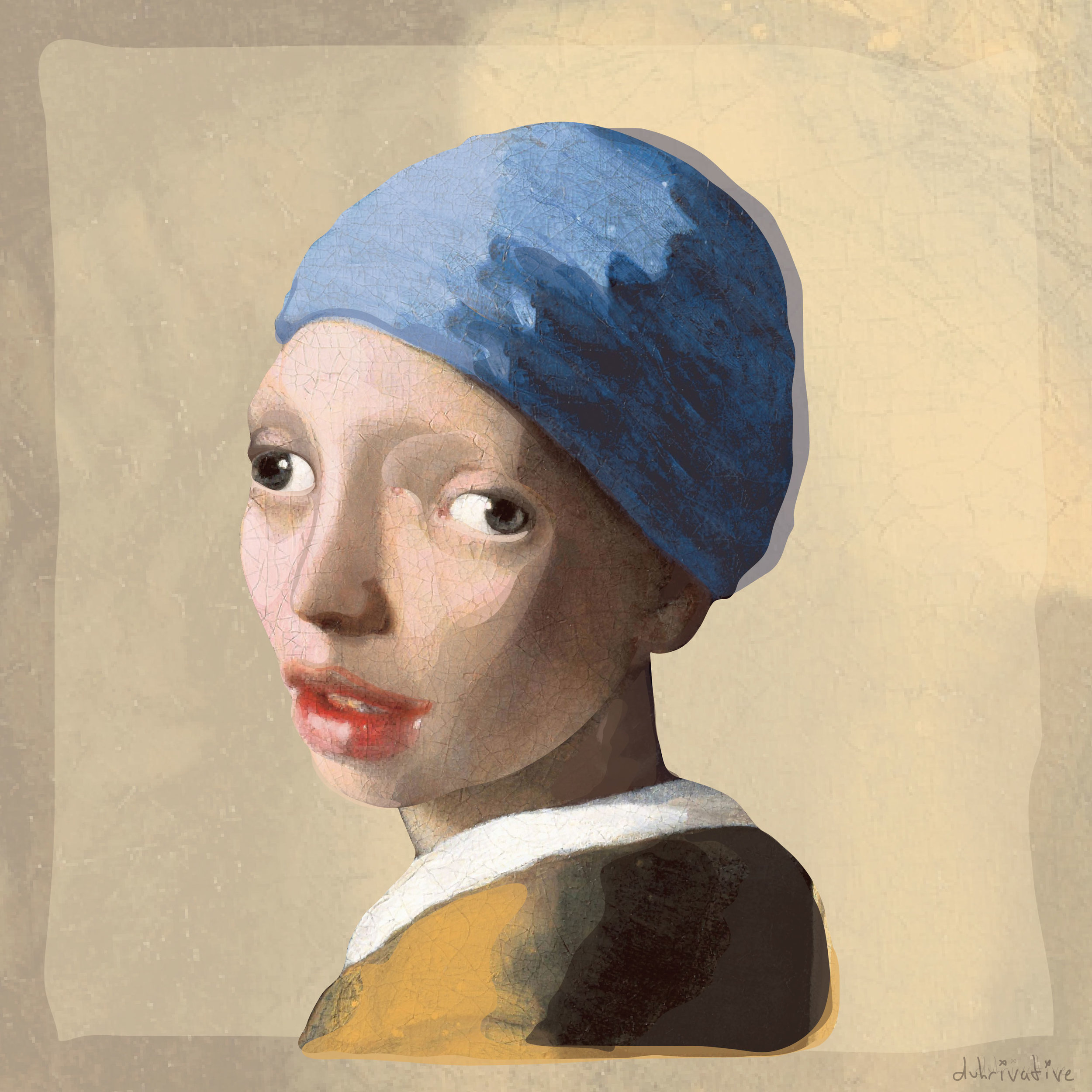 Girl Without Earring