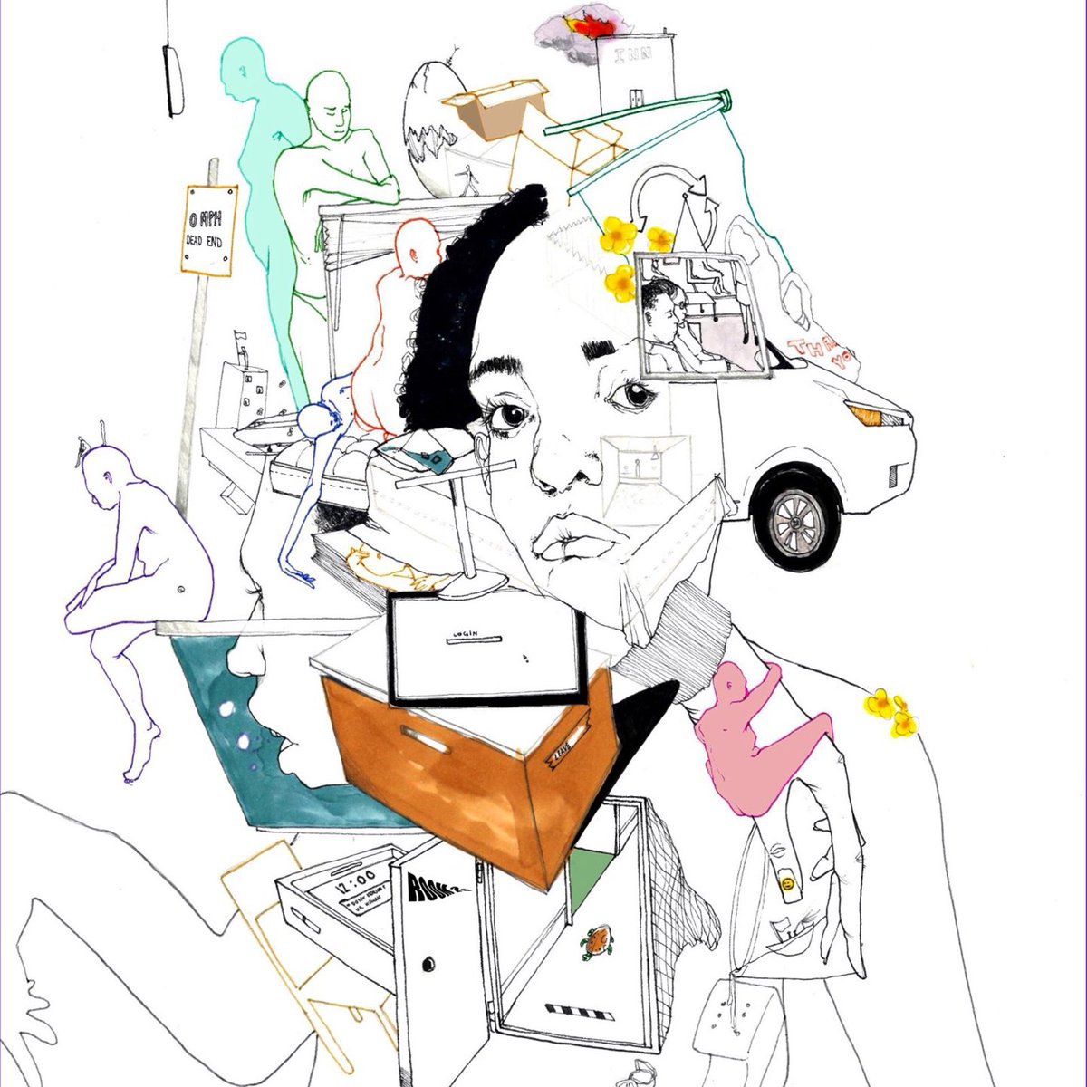 """Noname Room 25 Album Review - """"One more cypher, then I'm callin' it quits,"""" Noname proclaimed in 2013. But five years and two albums later, she's back with an album that has named her """"one of the best rappers alive"""".by Sasha Jones"""