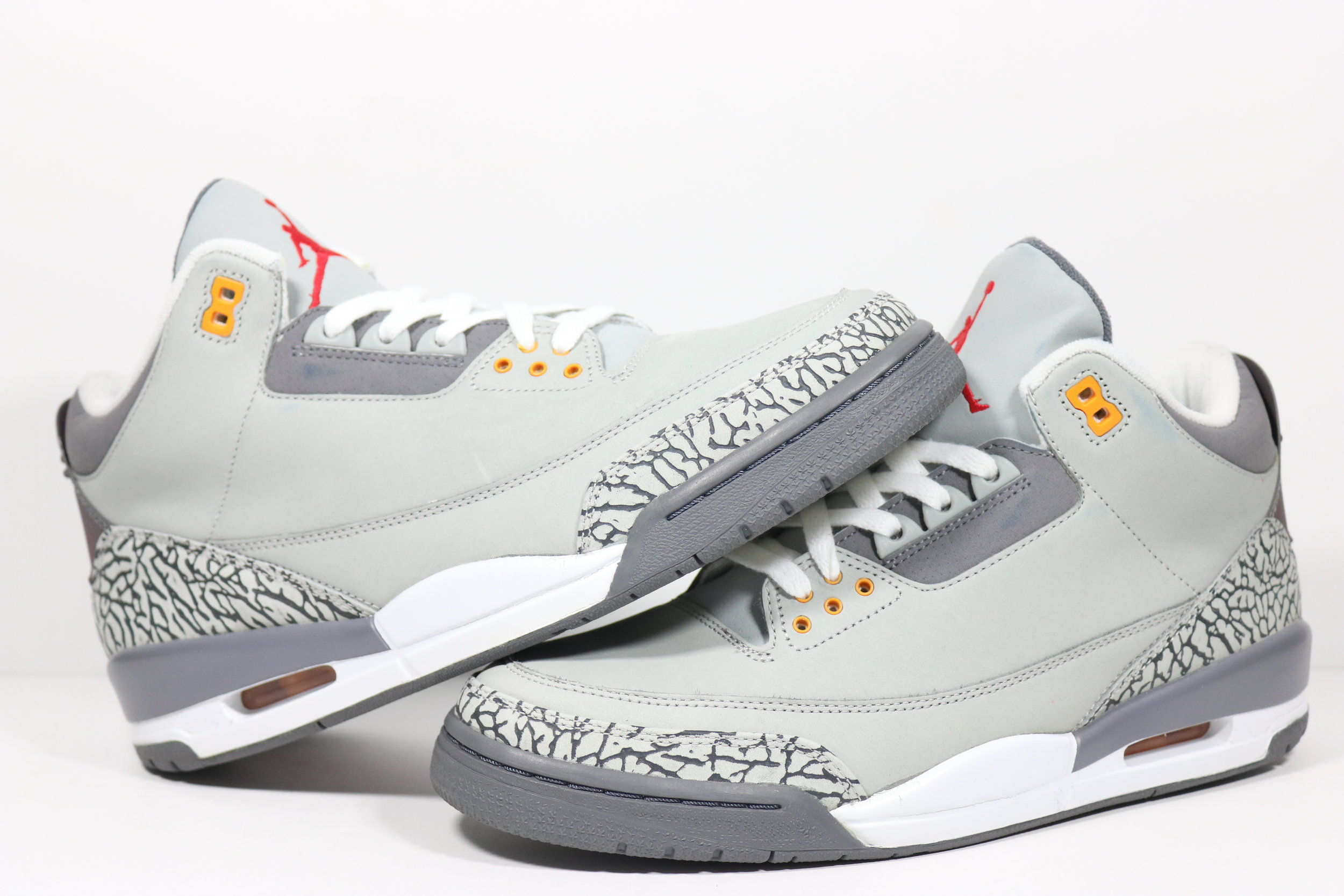 premium selection 7af86 0572a US 11.0 - NIKE AIR JORDAN 3 RETRO LS