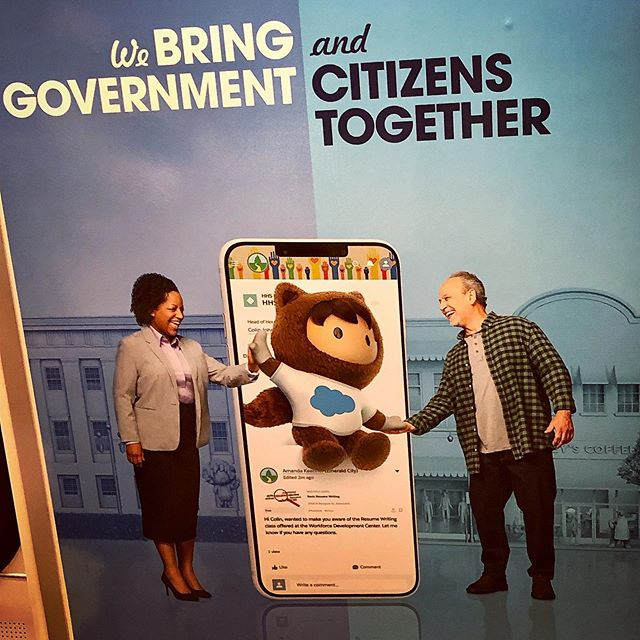 Since 2013. (At least for our part in this endeavor partnered with the O.G. @salesforce Public Sector team!) 🙌🏼💙💪☁️🏛🇺🇸