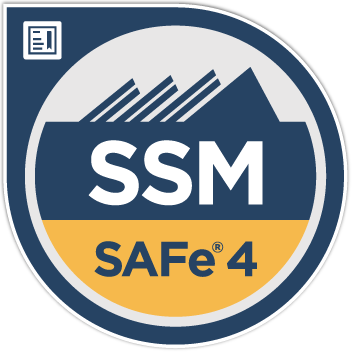 Scaled Agile Certified Scrum Master Badge