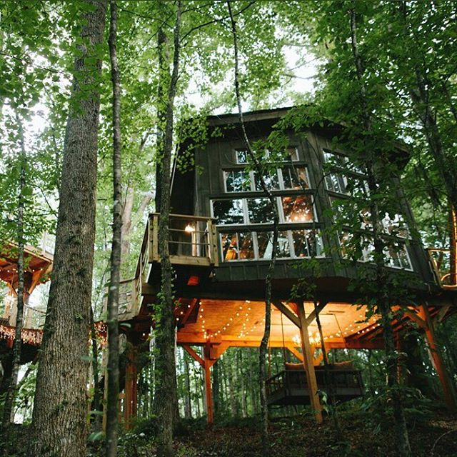 "No kids. No work. No responsibilities. 🥳 Treehouse Release Day starts at 12 noon EST (link in bio) 📣 TAG your travel buddy & get ready to ""Live Like Kings & Play Like Kids""! #themajestictreehouse"