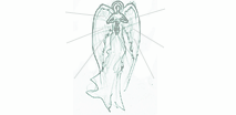 Haniel shines a light to channel divine communication with your angels and spirit guides. She helps you to fulfill your life's mission. She is particularly close to sacred feminine energy and the moon.