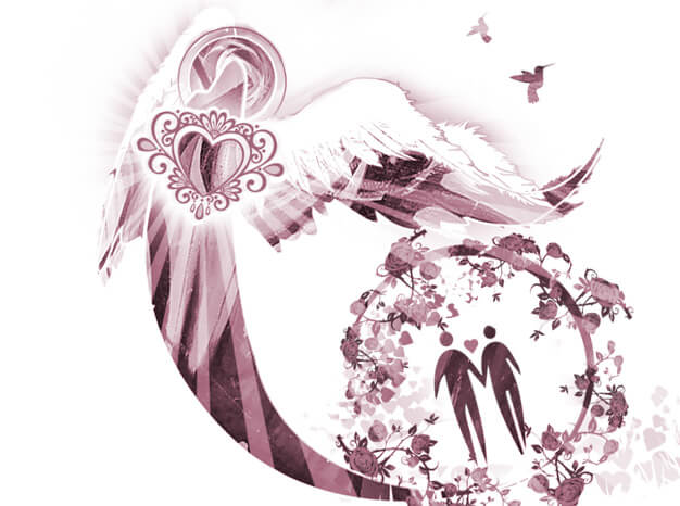 Chamuel is the angel that helps you find anything - particularly loving relationships with others and yourself.