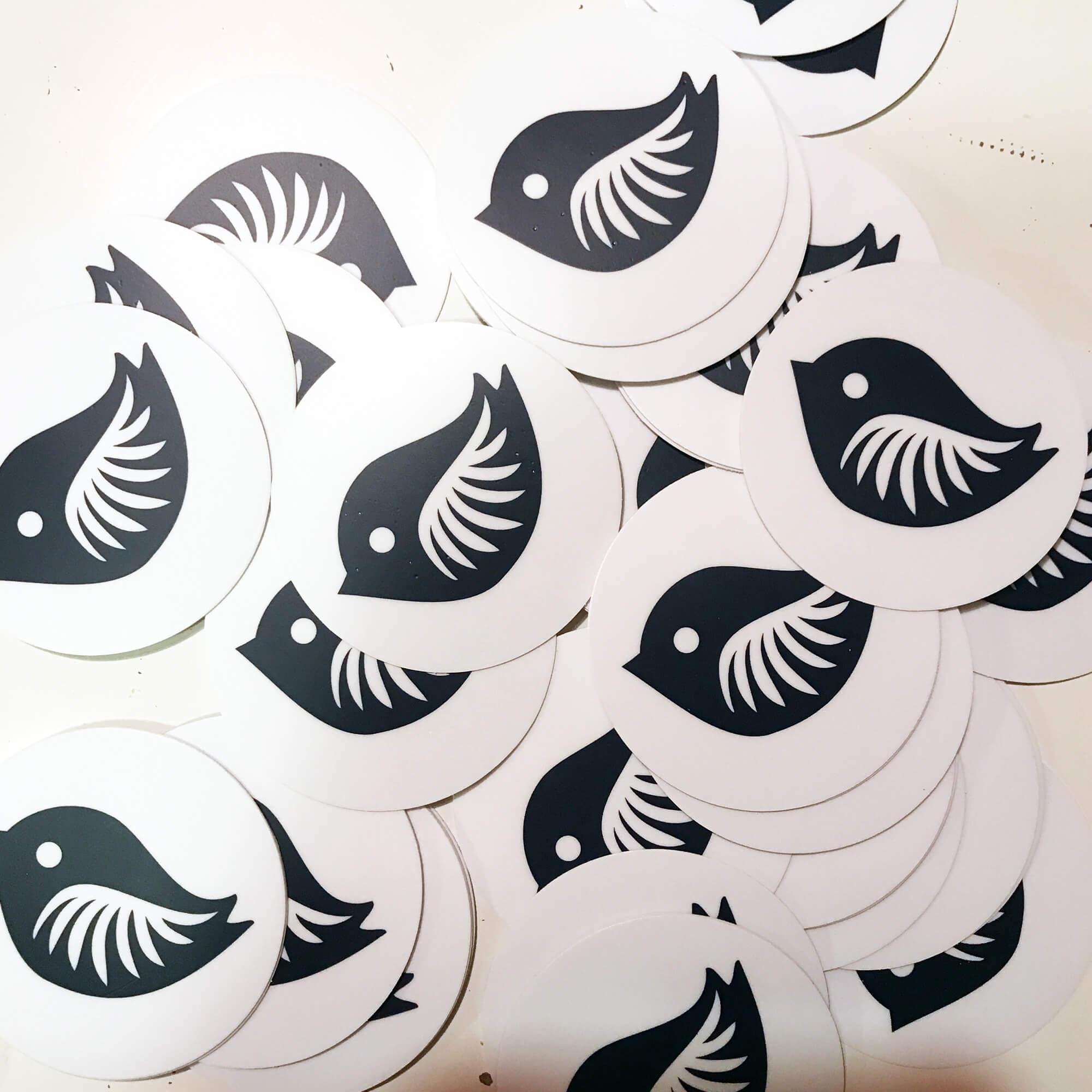Free stickers!
