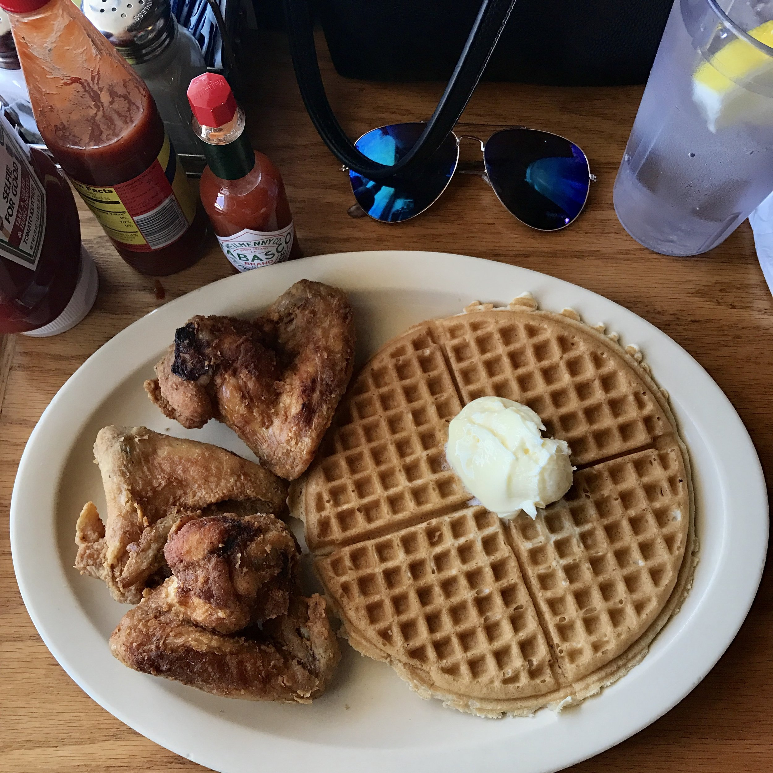 Roscoe's Chicken and Waffles- Inglewood-Obama's Special