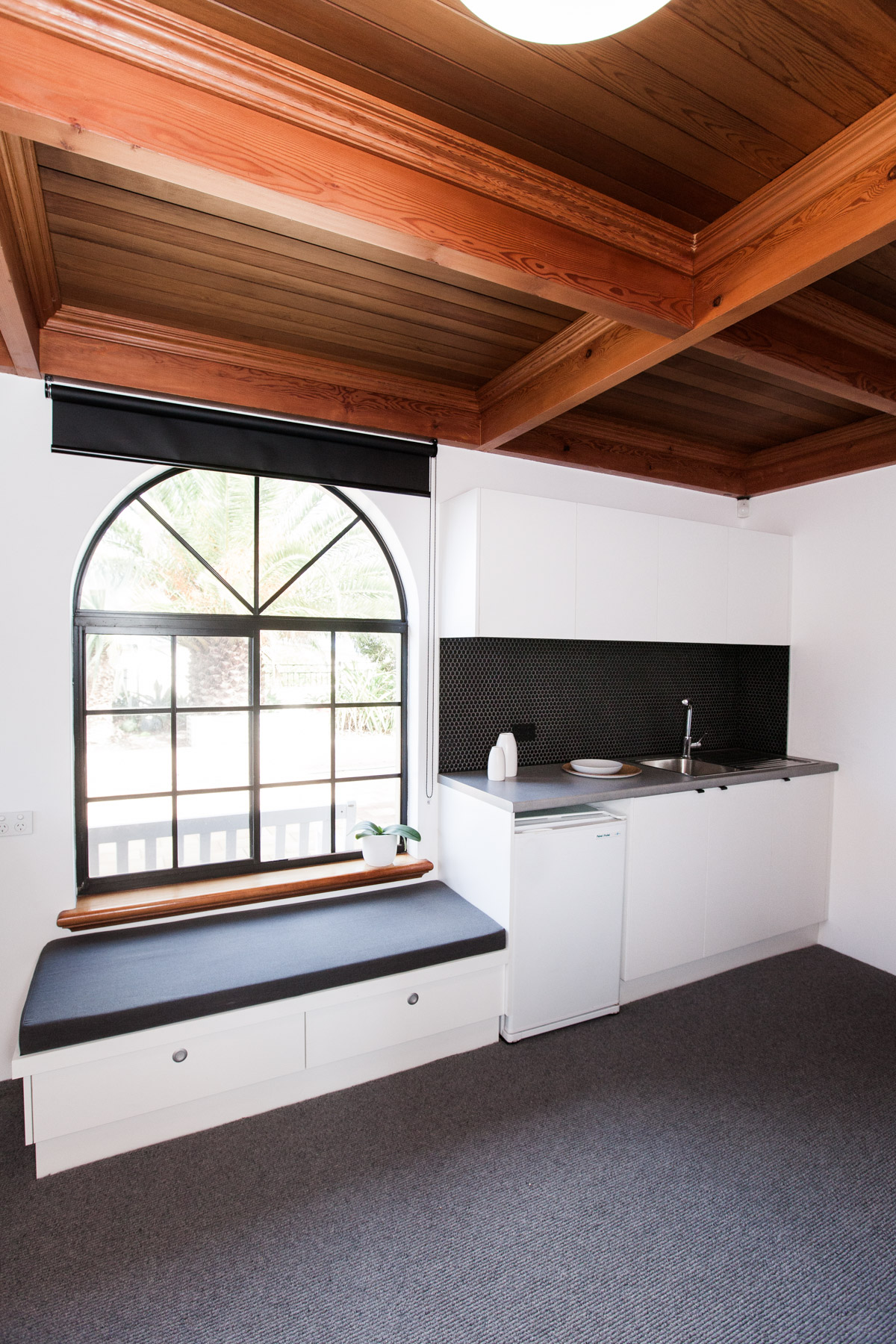 Study Kitchenette & Window Seat
