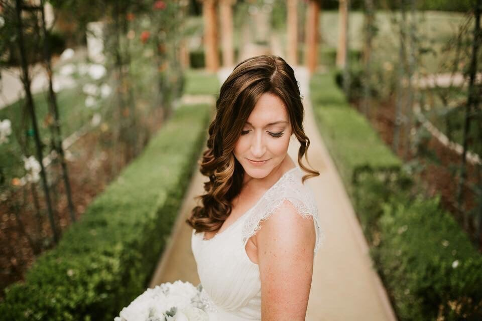 Bridal Brunette Hair Side Swept Curls.jpg
