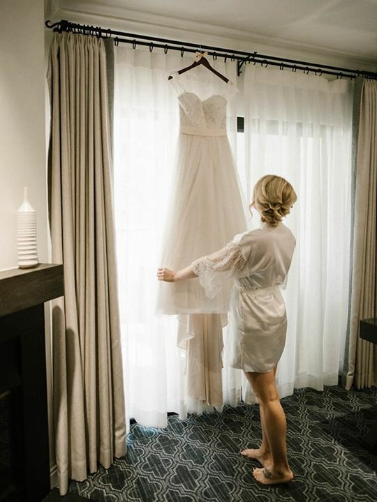 Blonde Bride Wedding Dress Hanging.JPG