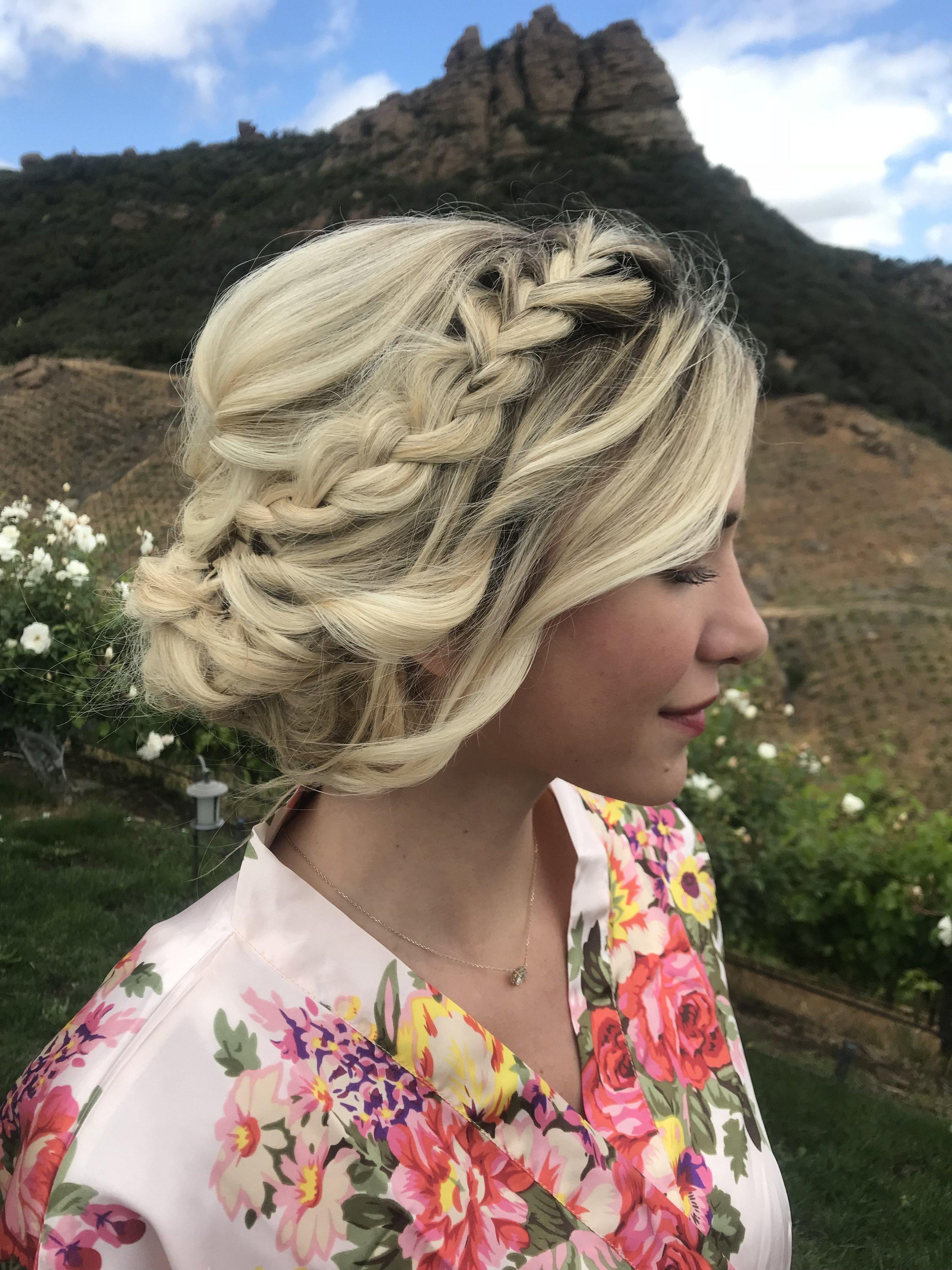 Blonde Braided Bridal Updo with Curls.jpg