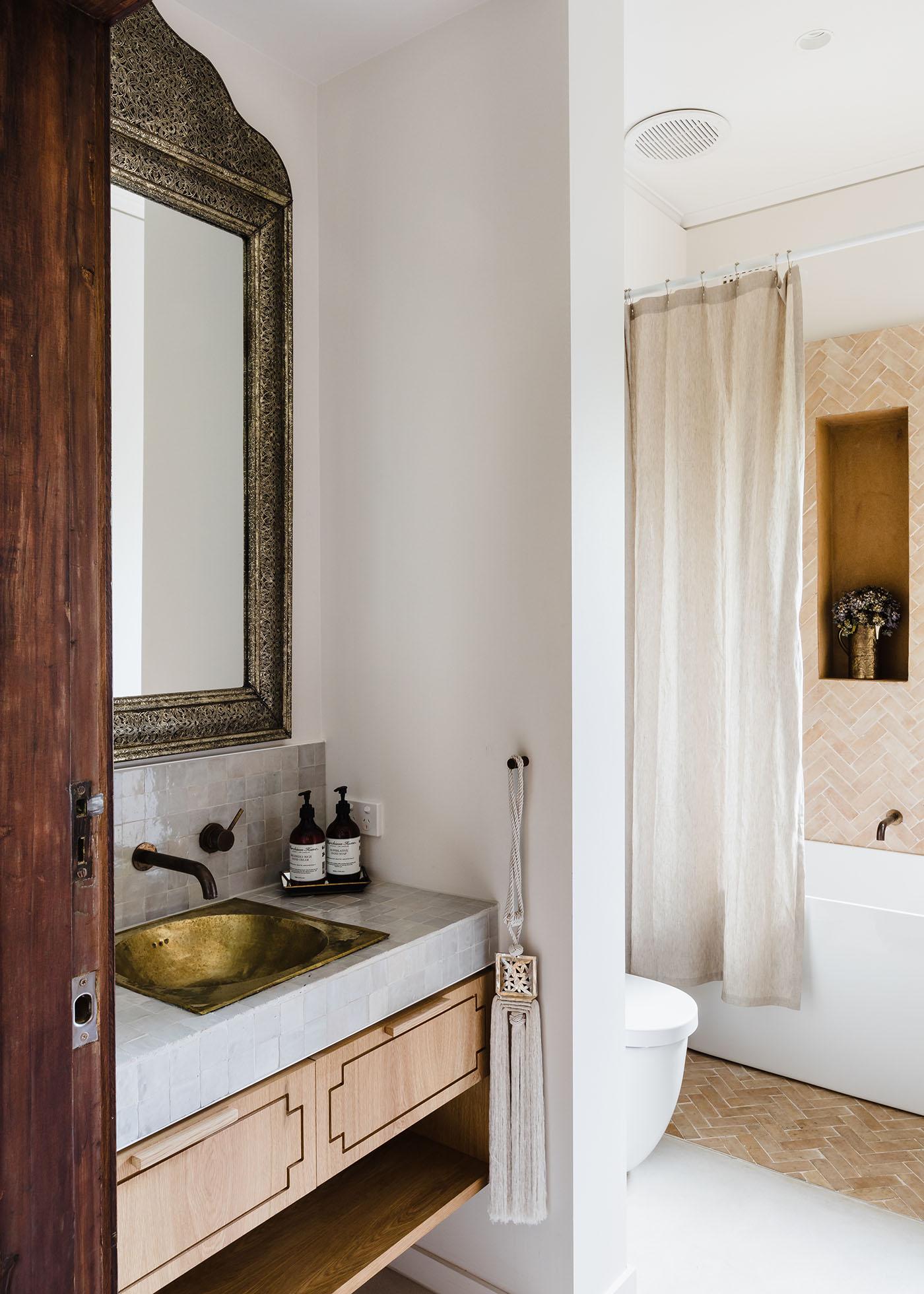 GABBE INTERIOR TILESOFEZRA Georgia Ezra Home Feature shower Mosaic Moroccan feature bathroom wall tile.jpg