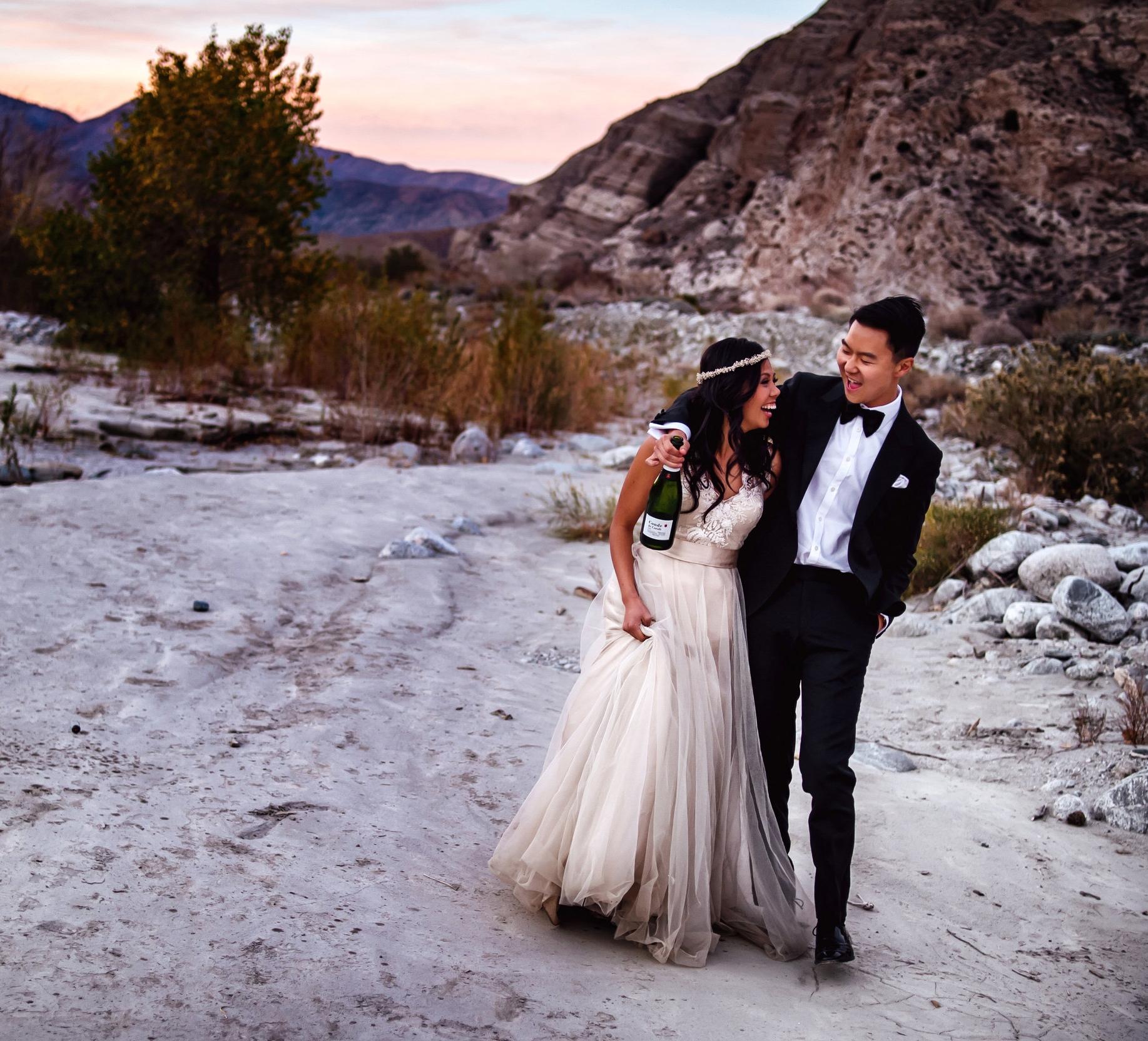 BRANDON & KATRINA  Palm Springs, CA — Davina & Daniel