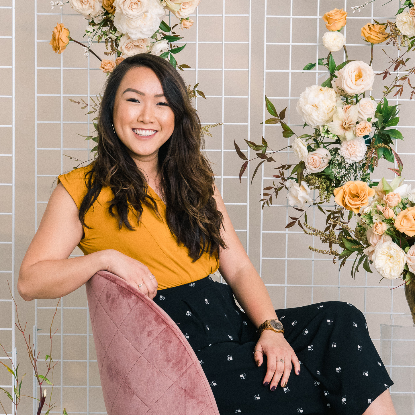 Connie WONG - Growing up in a family-run restaurant business, customer relationships, fast-paced working environments, and the constant aroma of tasty food with warm company have all become second nature for me. These elements drive my passion for weddings and events! Since I was young, I knew I had a knack for organization and planning, an eye for all things gold, glittery, and glamorous, and a true excitement for bringing good food and even better company together.While studying Business Administration at the University of Southern California (USC), I began cultivating this passion when I joined CCL Weddings and Events. I love that weddings bring people together, from all different places, backgrounds, cultures – no matter the relationships, memories, or ties to the happy couple – only for one thing…to eat, drink, and be merry in the name of love! I am a lover of all things celebratory – any excuse to eat, dress up, and boogie! When I'm not working as a financial analyst by day or assisting weddings by night, you can find me grubbing off of Jonathan Gold's 101 Best Restaurants List, on Space Mountain at Disneyland, marathon training or yoga posing, or playing fetch at the park with my Belgian Shepard, Beignet.I am thrilled to have found my passion coordinating events that lets my business expertise shine in a creative, personal context. My enthusiasm, energy and precision ensure that all of my clients experience not just a joyful, unforgettable celebration, but also the warm and professional service they deserve as they plan their BIG DAY.*click the photo for fun details about Connie!