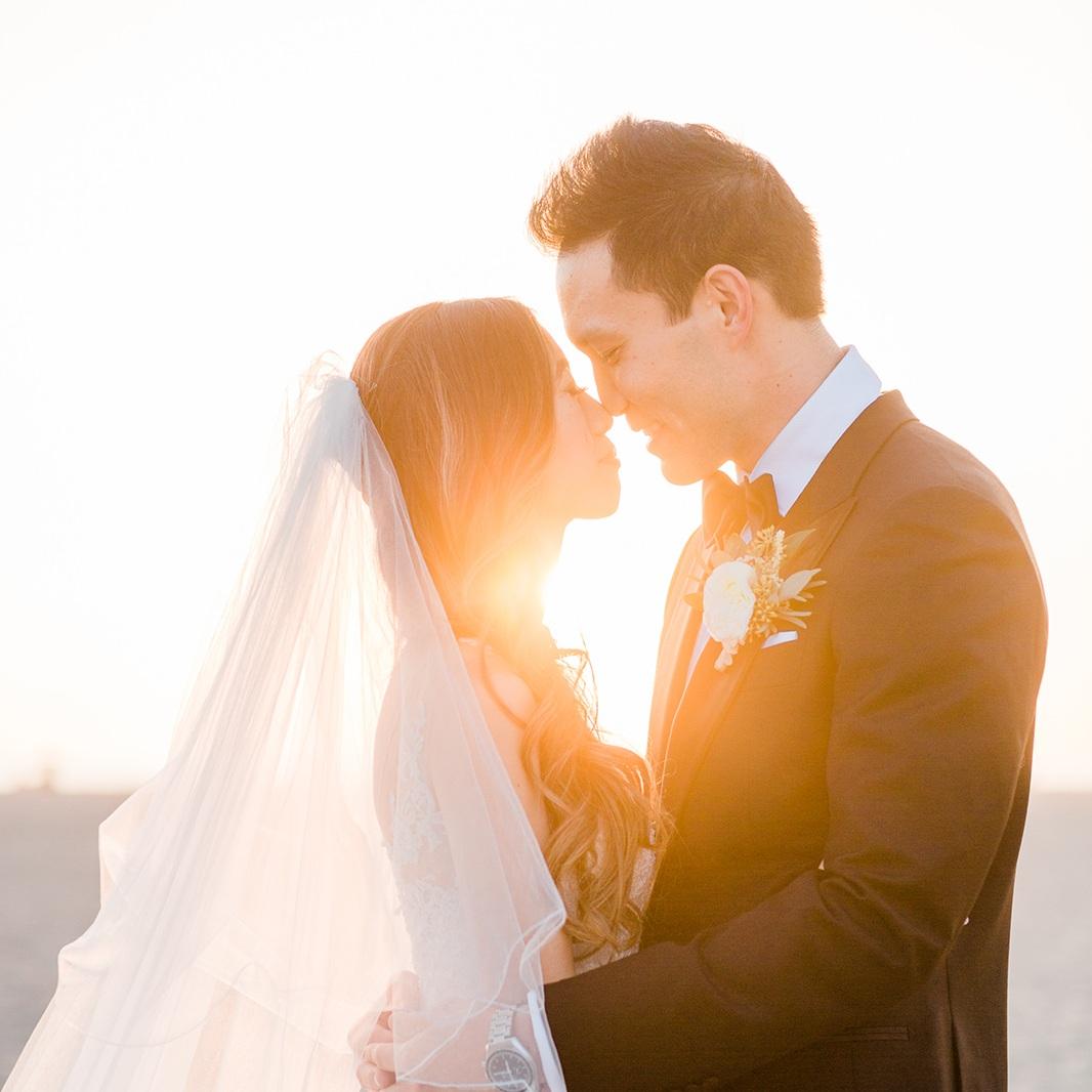 CONNIE & ANDY  Santa Monica, CA — Jennifer Fujikawa