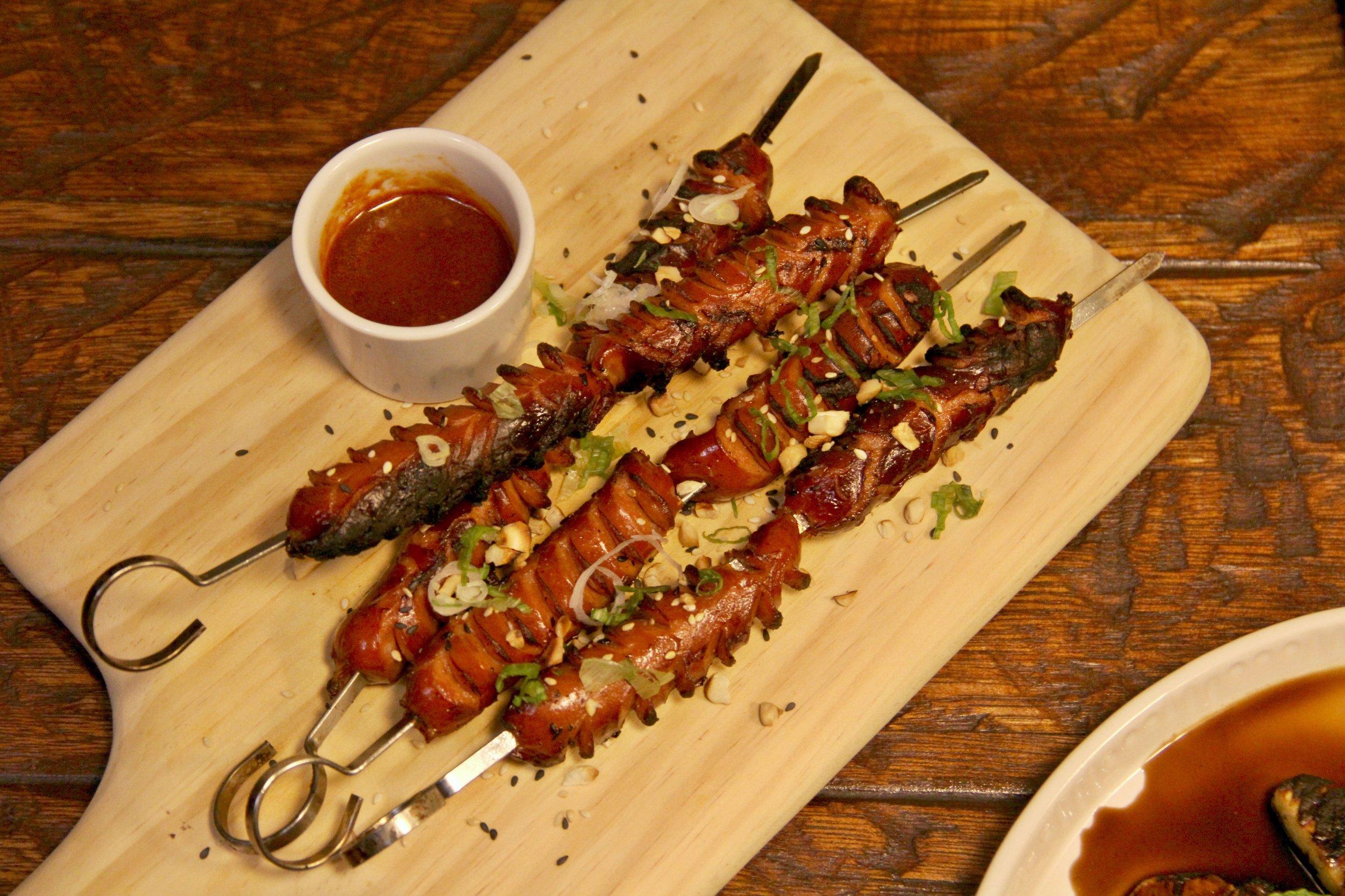 Grilled Kurobuta Sausage