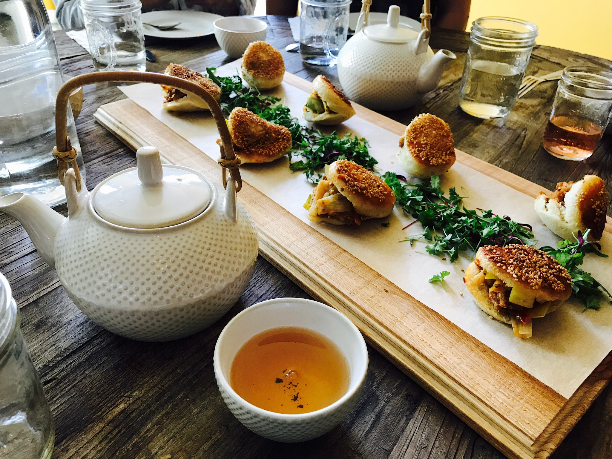 Global take on high tea brunch - Learn about the history and tasting notes of regional teas from around the world as tea enthusiast chefs present a six-course tasting menu featuring a new global take on