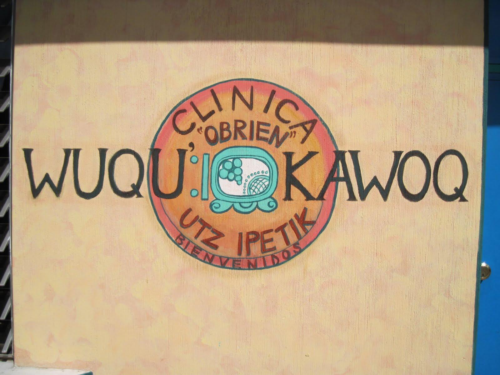 Painted Wuqu Kawoq Clinic Logo