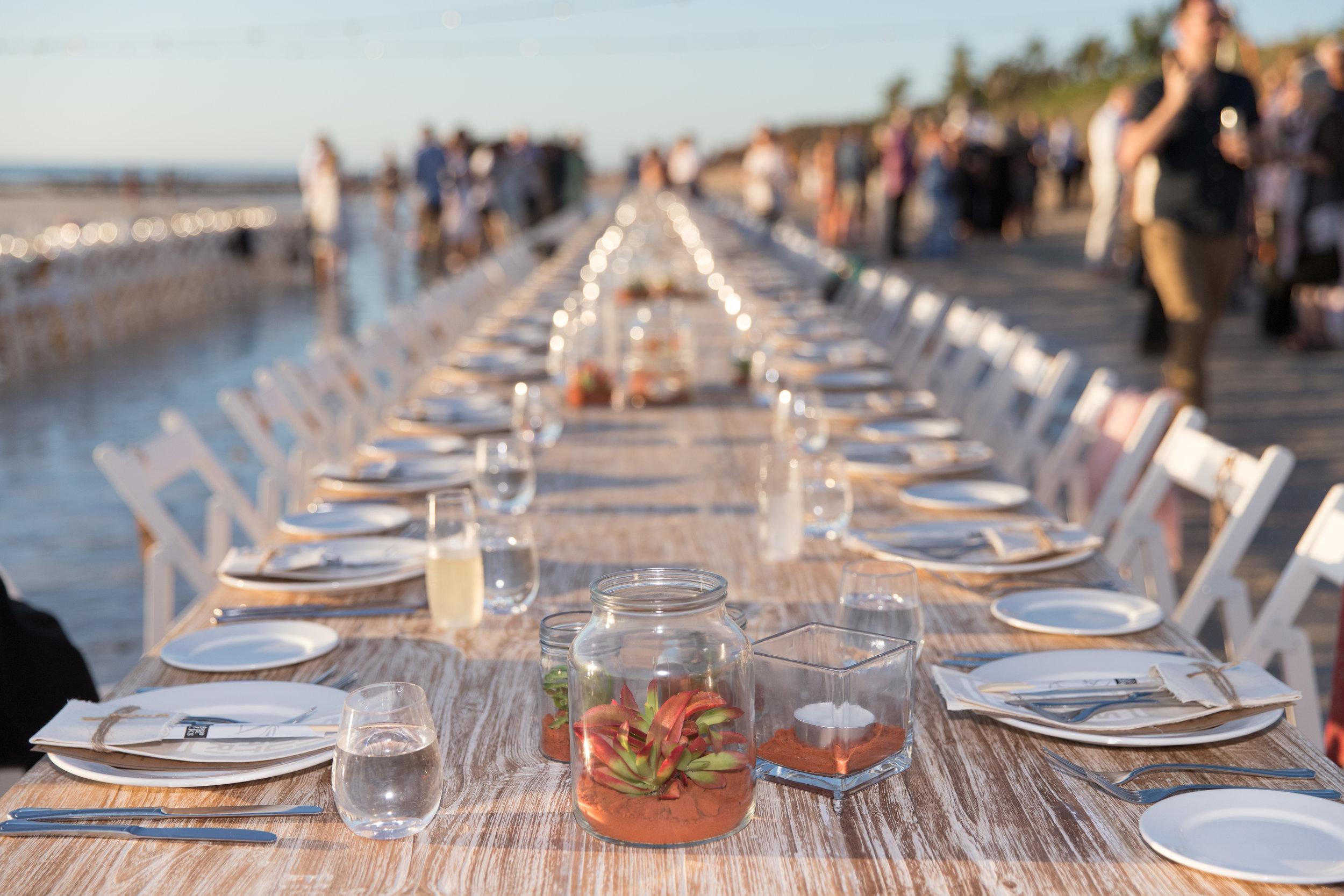 The Sunset Long Table Dinner on Cable Beach Photo: Pamela Jennings