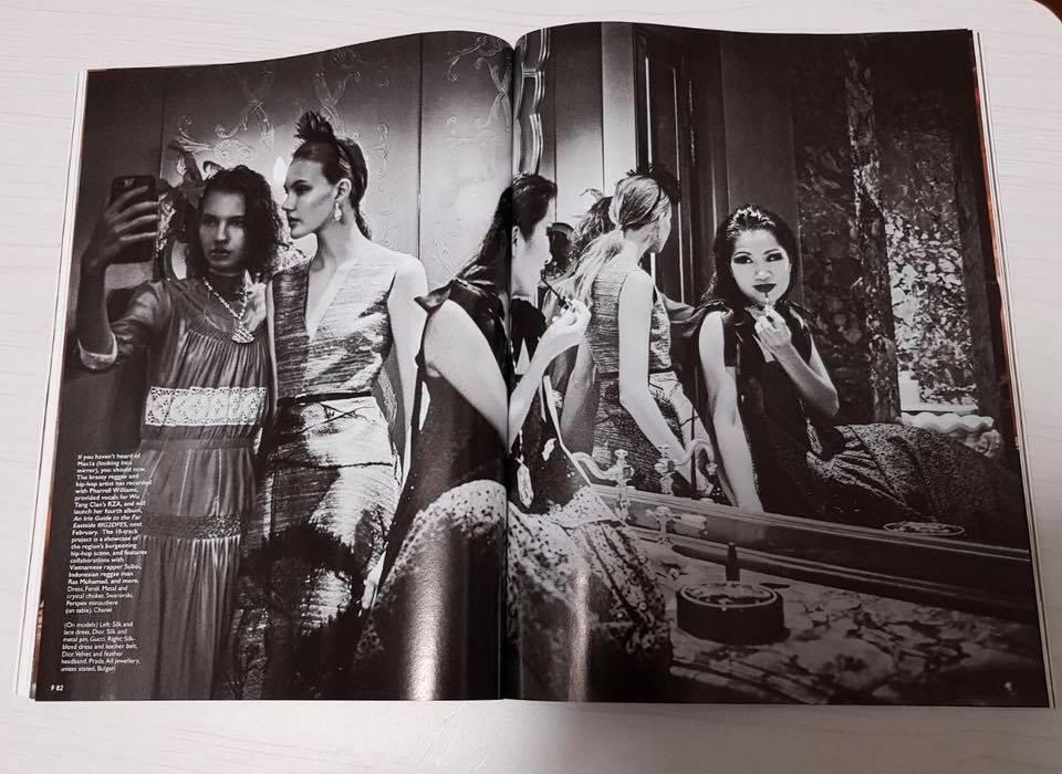 MAS1A - MAS1A for Female Magazine, Singapore. Holiday, 2017.