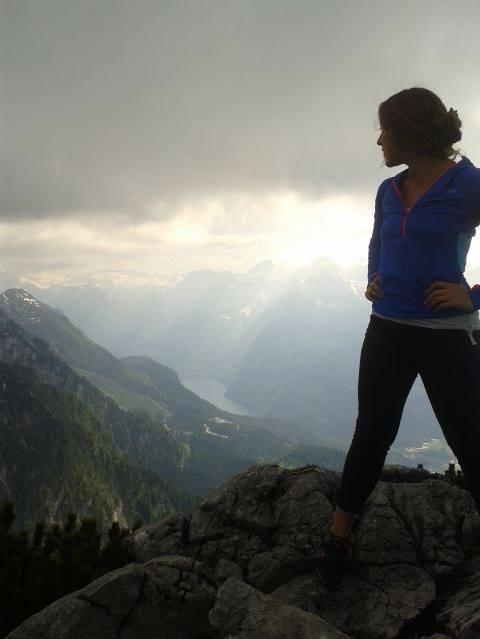 Katrina Turman at The Eagle's Nest in Berchtesgaden, Germany