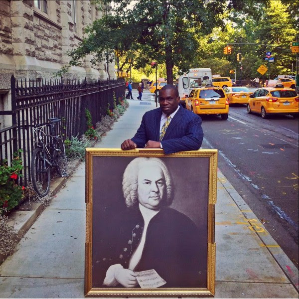 Baritone Joe Chappel is one of the most sought-after Bach baritones in town!