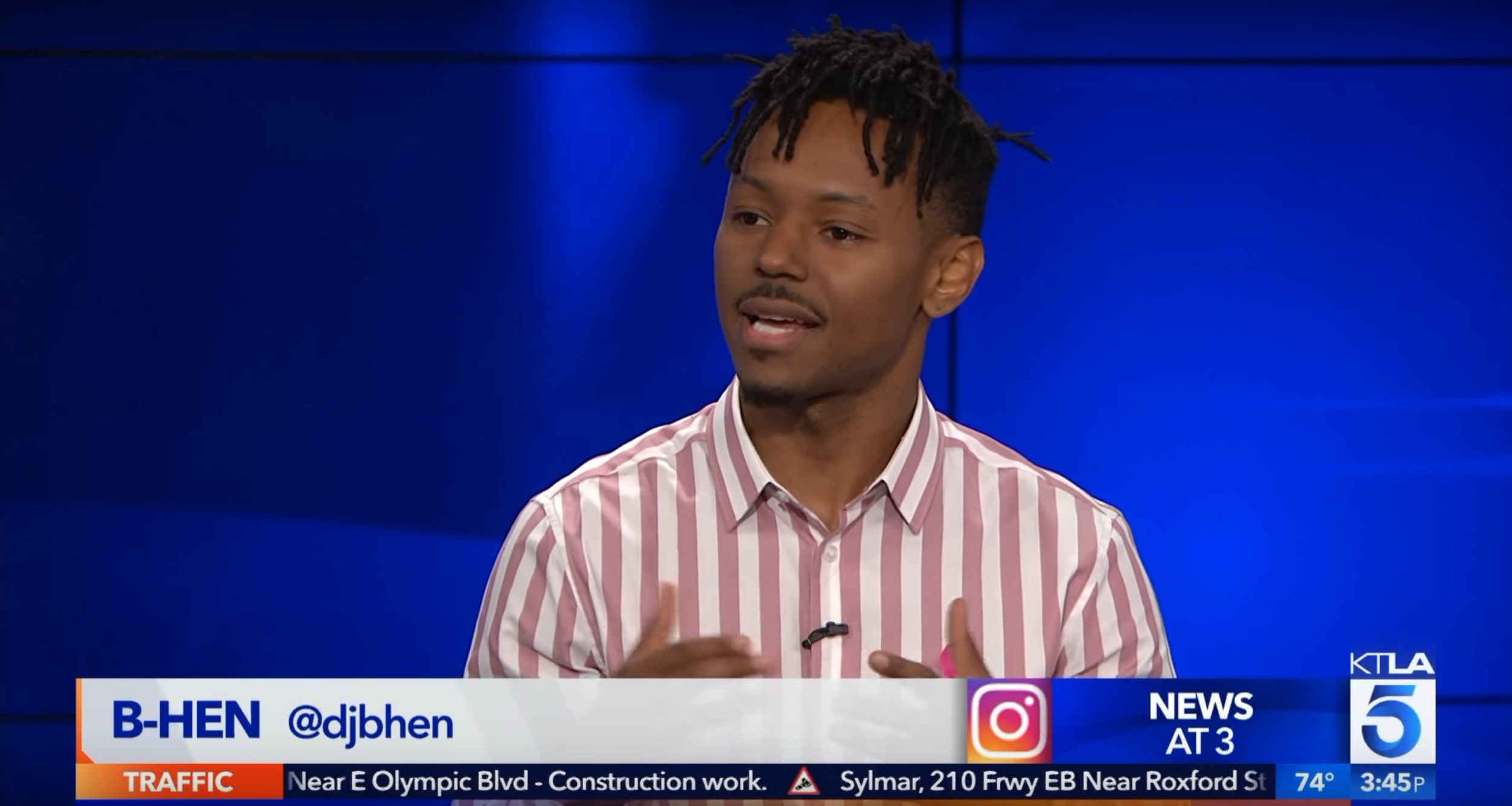 KTLA 5: B-Hen Speaks about #B2BBC EVENT (INTERVIEW) -