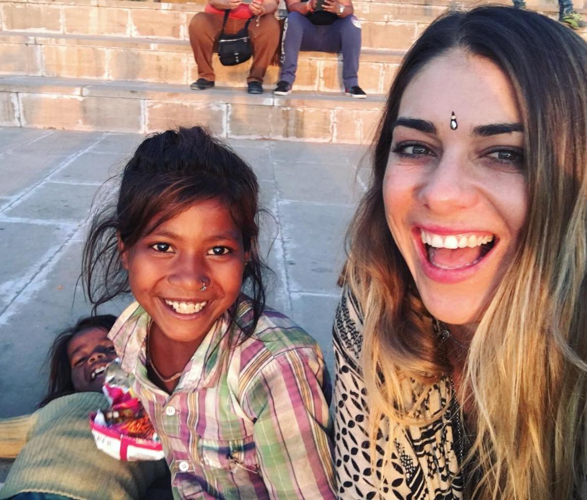 crianças de rua na India