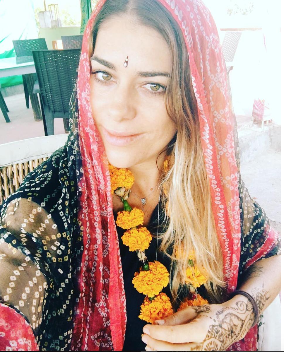 viajem sozinha pela Índia
