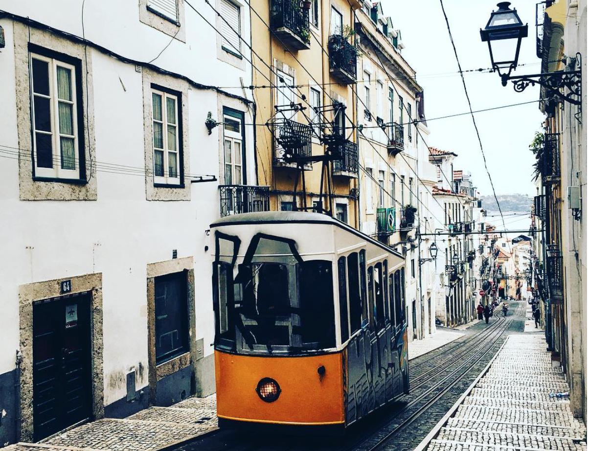 Bonde em Lisboa portugal