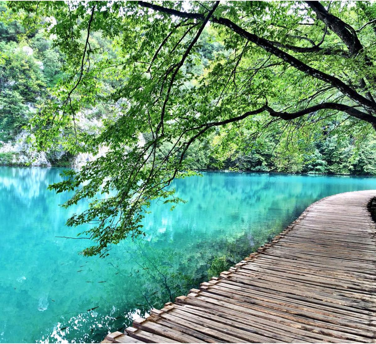 Plivtice Croacia - Viajei de carro, ônibus e barco