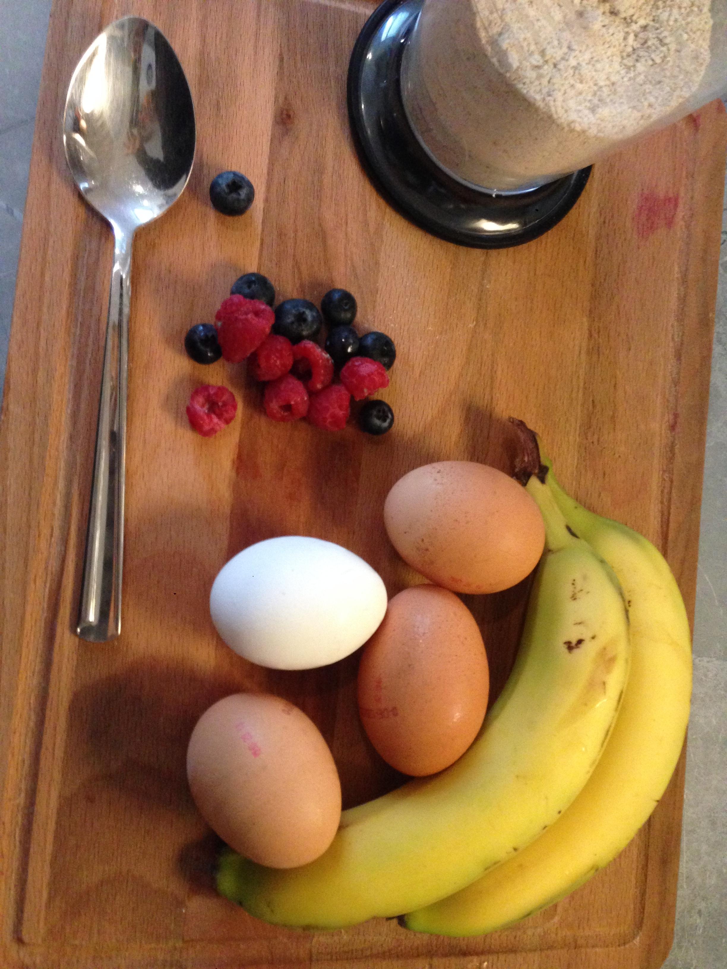 receita panqueca de banana