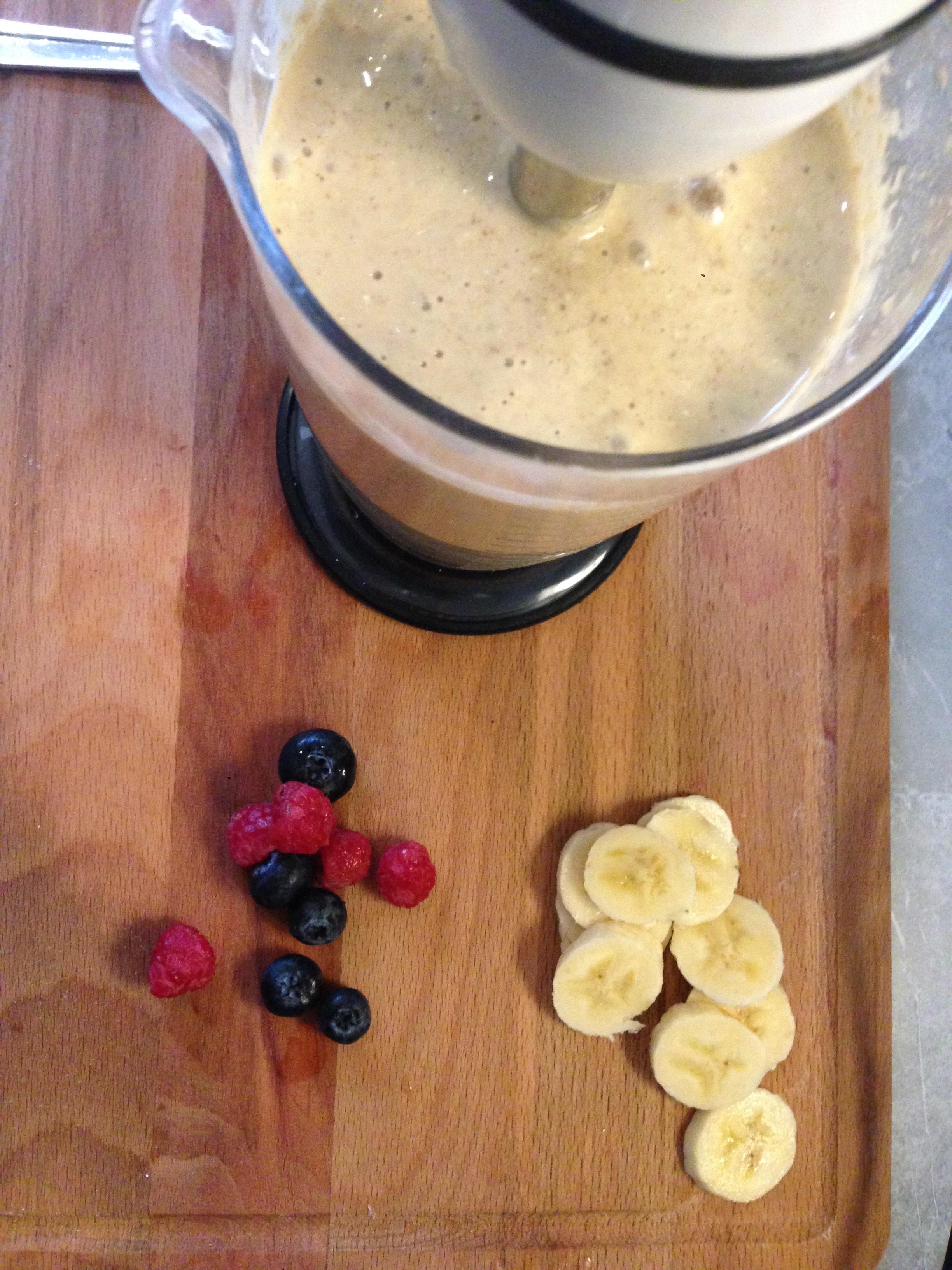 como fazer panqueca de banana