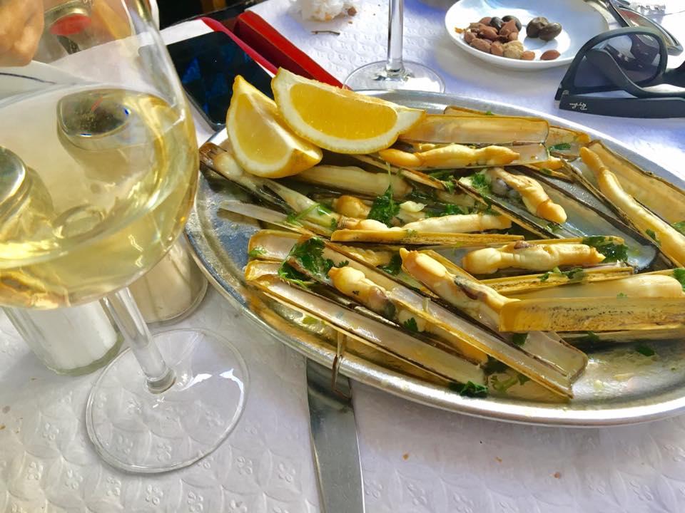 Navajas - Marisco muito apreciado na Espanha e que eu amo