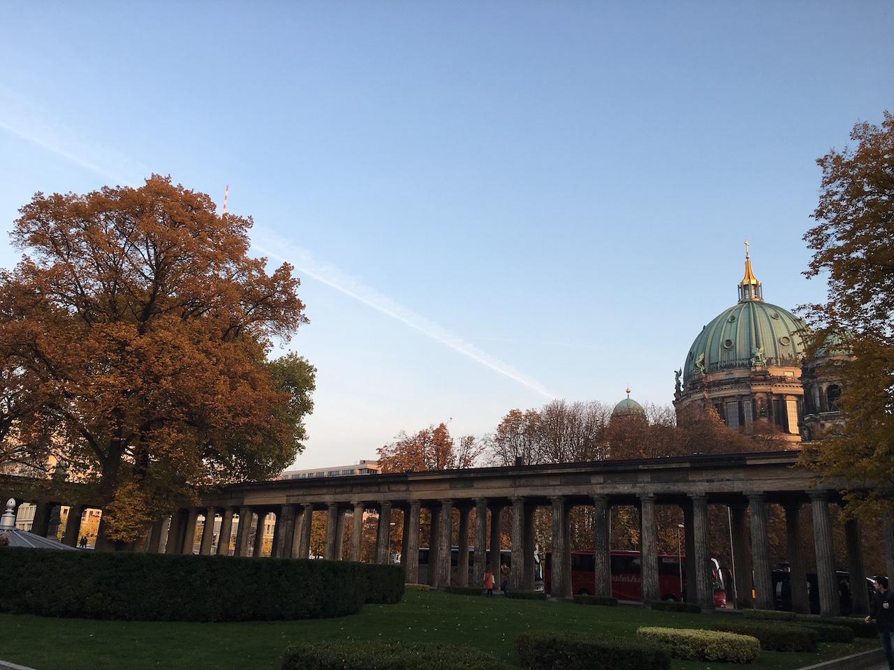 Vista do Dom - Ilha dos Museus - Berlim