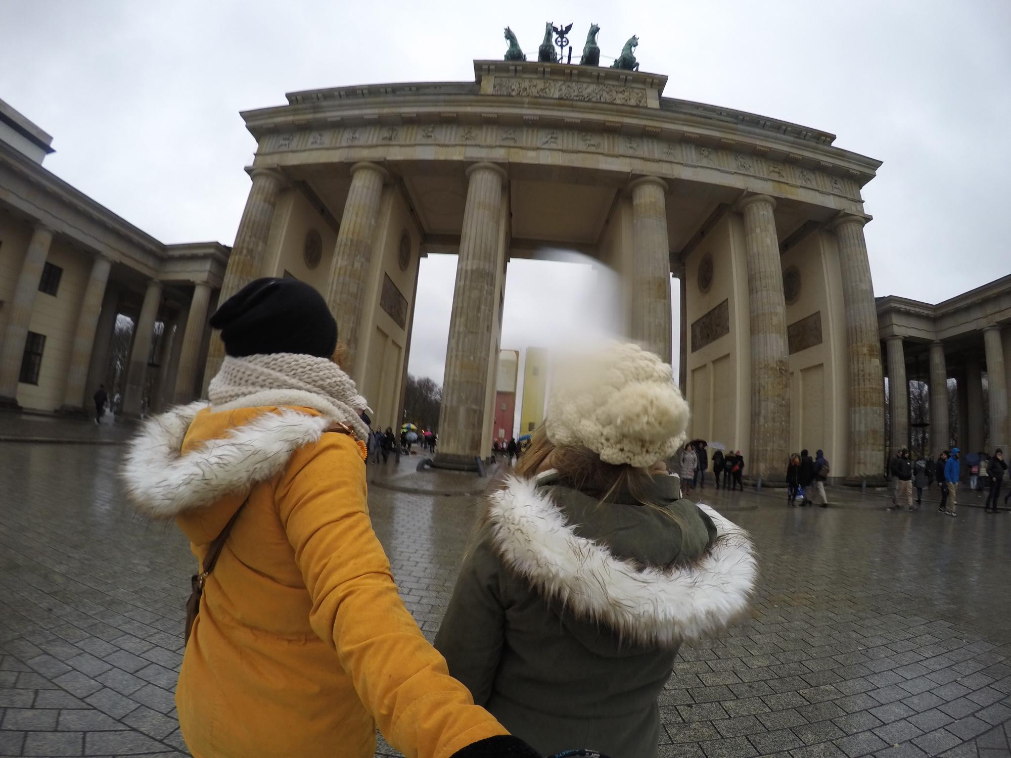 Explorando Berlim no Inverno - Bradenburg Gate