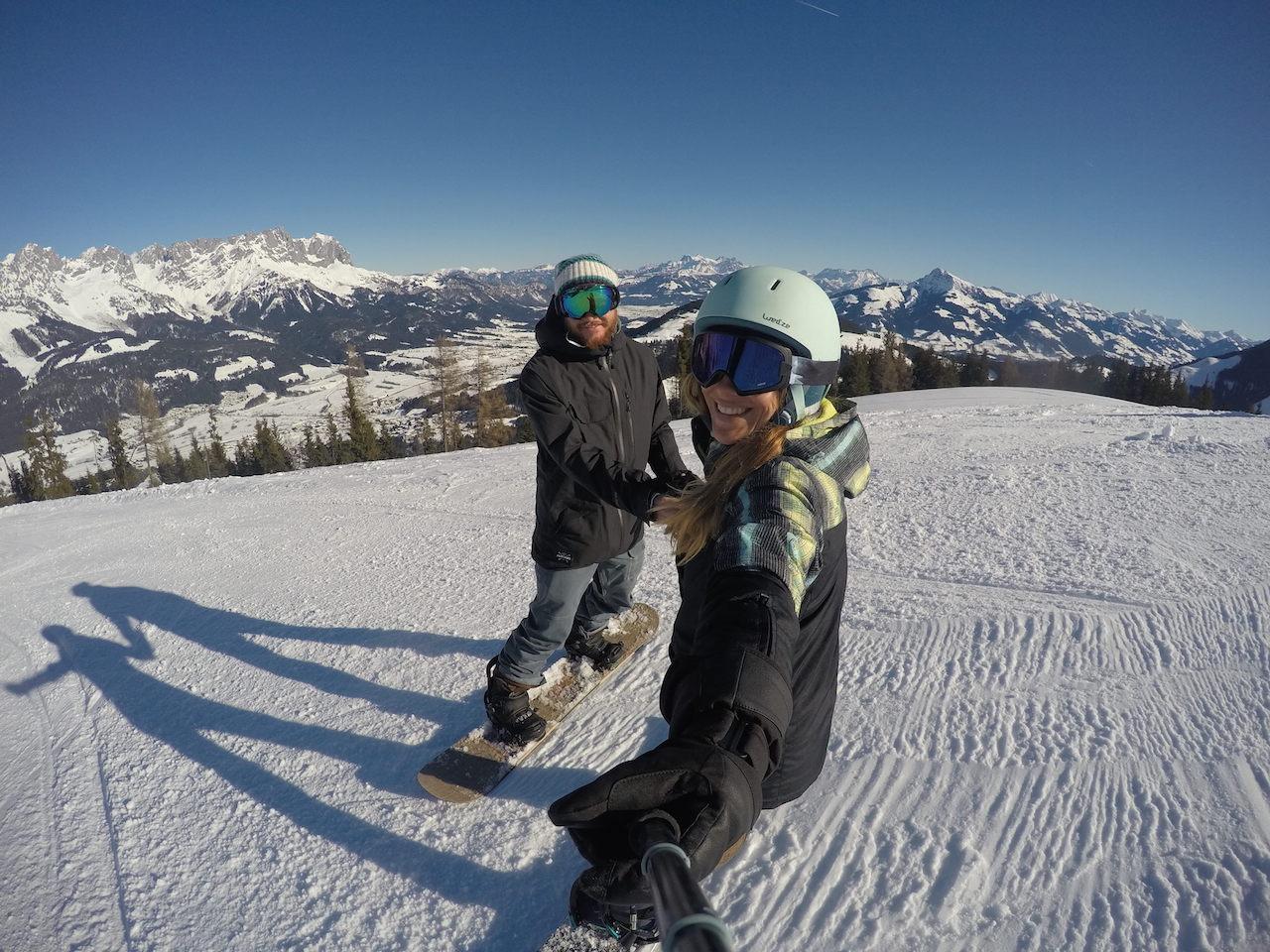 Montanhas da Austria - muito esporte e natuerza pelo país