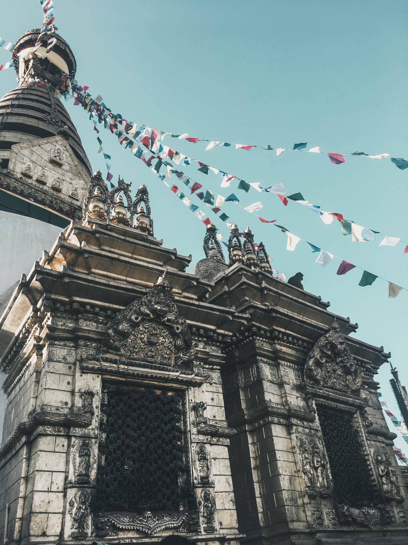 Swayambhu Templo