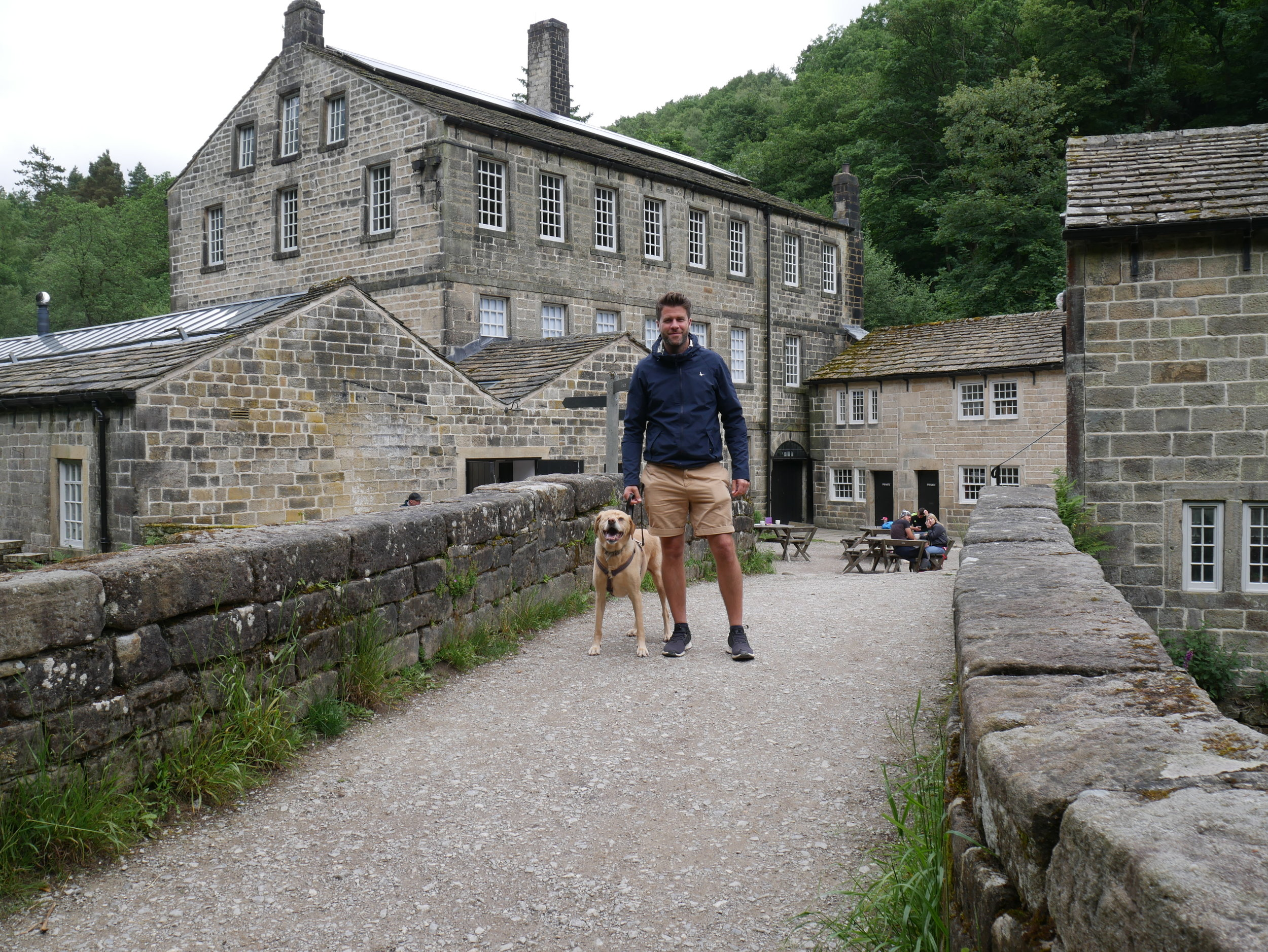 Gibson Mill - National Trust, West Yorkshire.