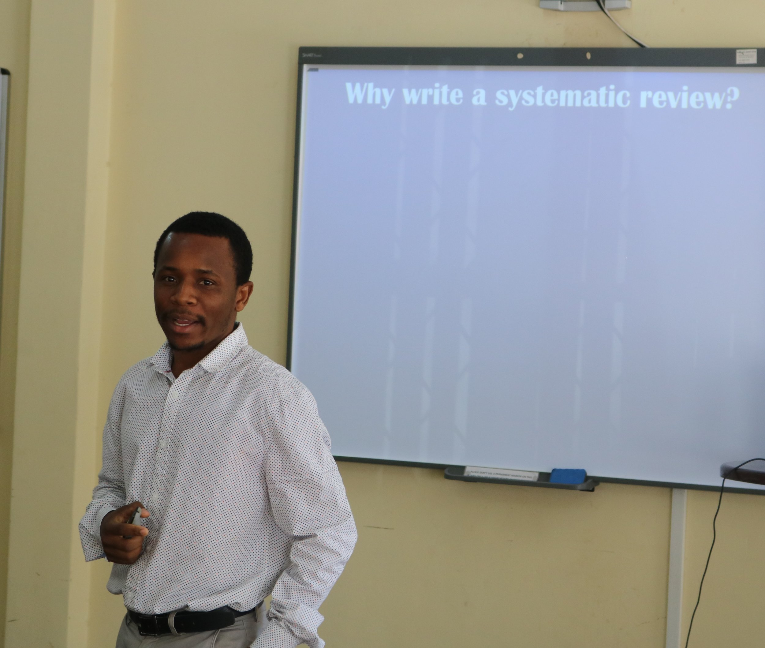Jermaine Dambi, AMARI PhD Fellow