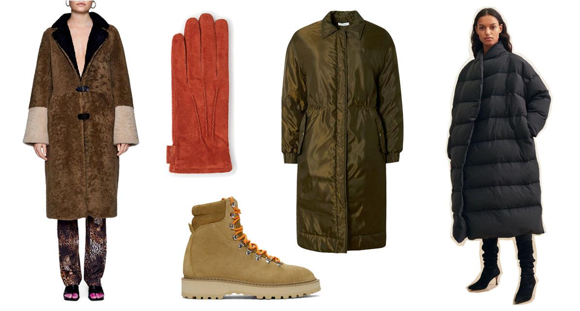 Febbe Coat fra SAKS POTTS  //  Jessica Rust Gloves fra Læd'r  //  Monfumo Desert Oasis Boots fra DIEMME  //  Yale Coat fra NUÉ NOTES  //  Bondy Coat fra TOTÊME