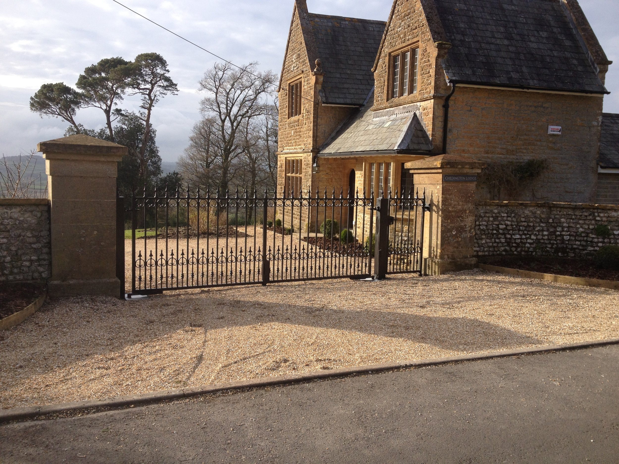 Traditional Automatic Gates