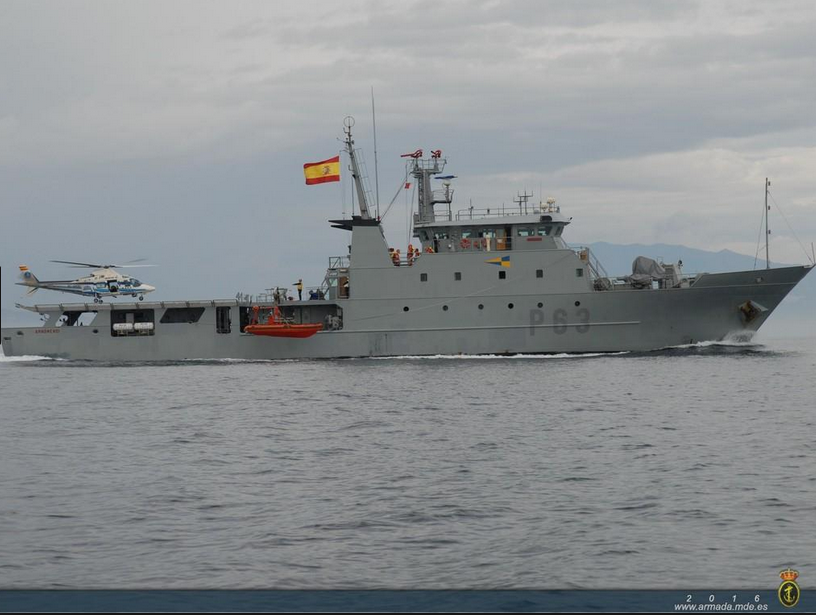 OPV Arnomendi of the Spanish Navy