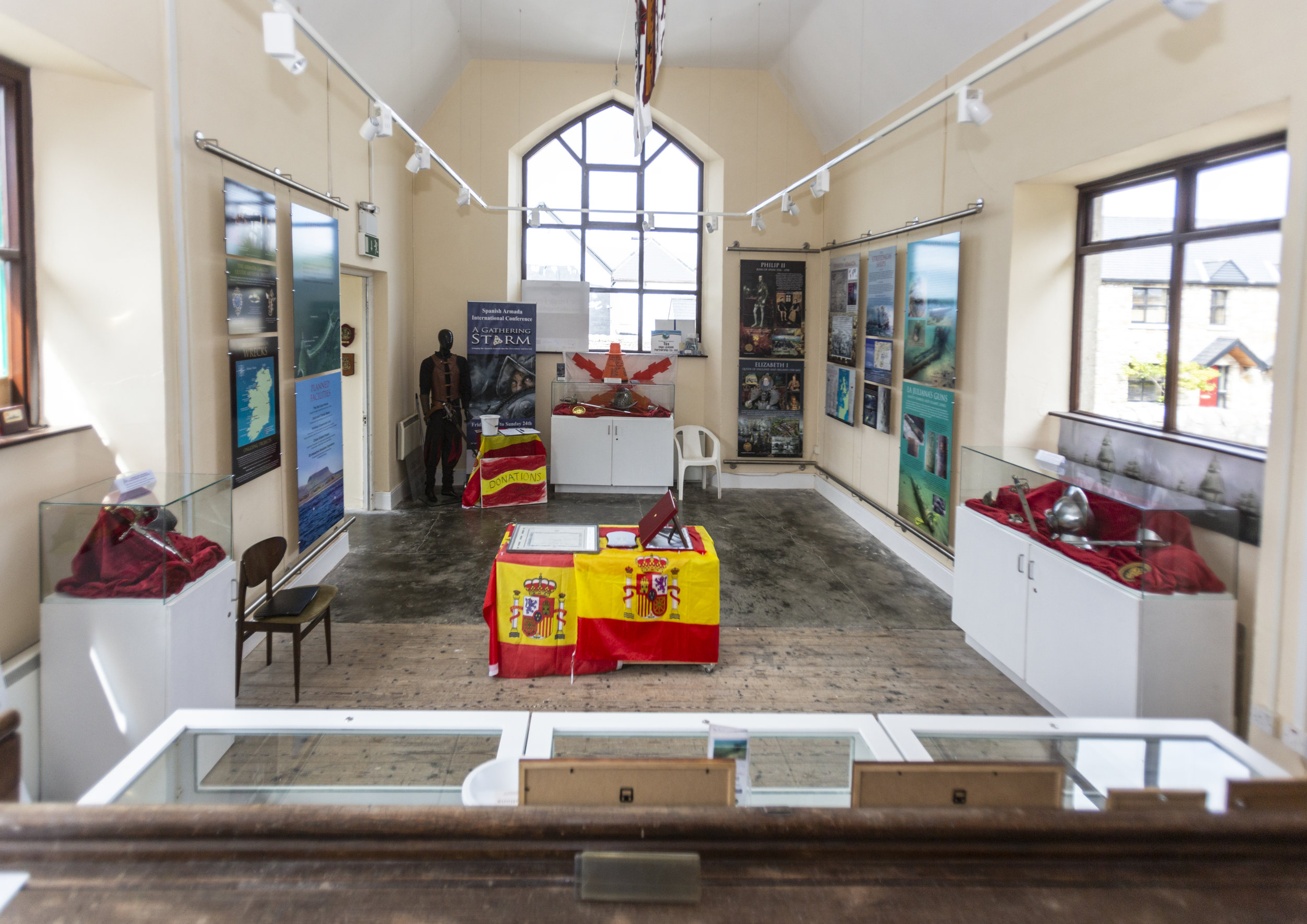 Spanish Armada Visitor Centre at the Old Courthouse in Grange, Co. Sligo © Donal Hackett