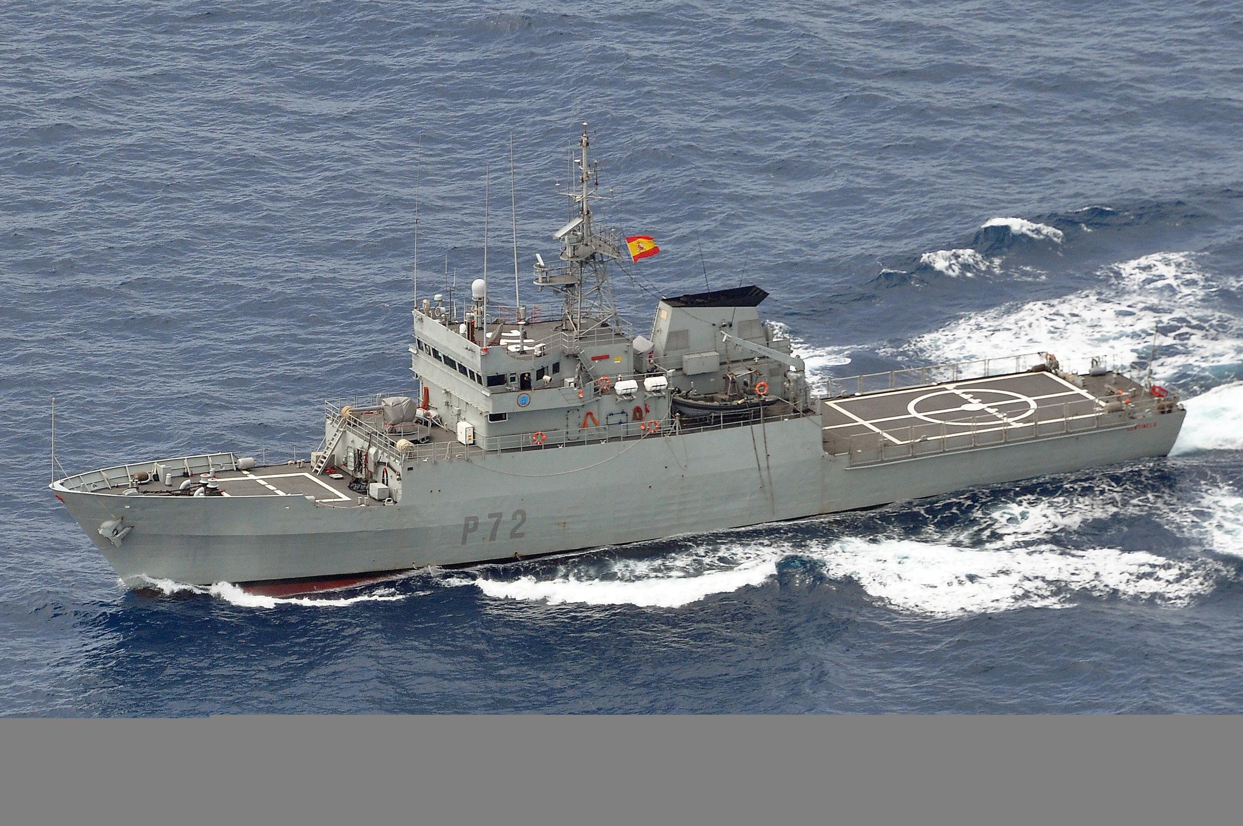 ESPS Centinela - photo courtesy Spanish Navy