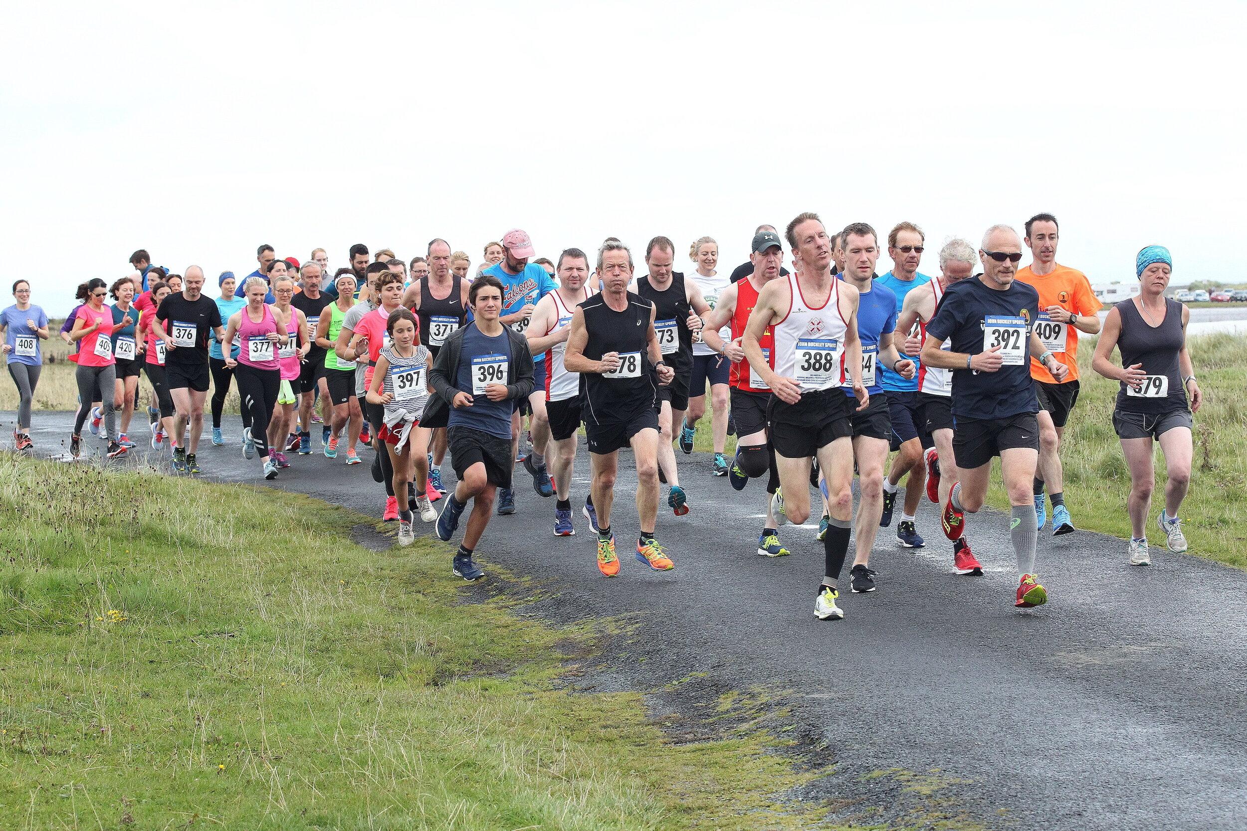 The inaugural Armada 8km Run - photo Charlie Brady