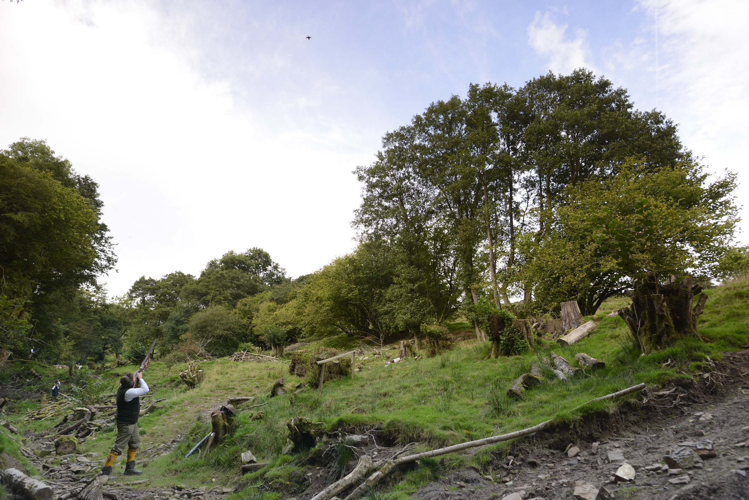 September Partridge Shooting at Tregoyd - Hardwick Sporting