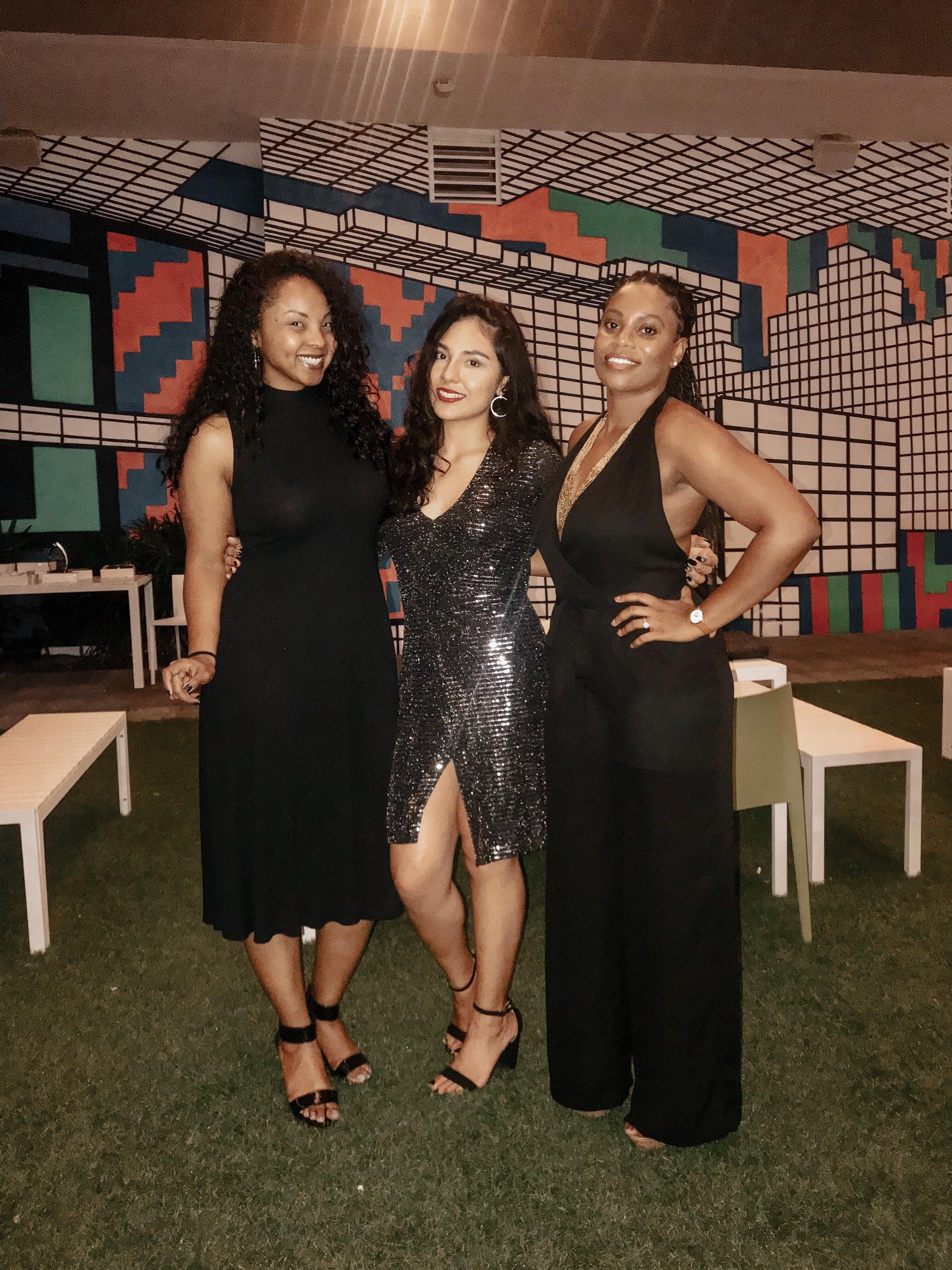 flourish media tracy timberlakes vivian olodun at x miami military impact awards