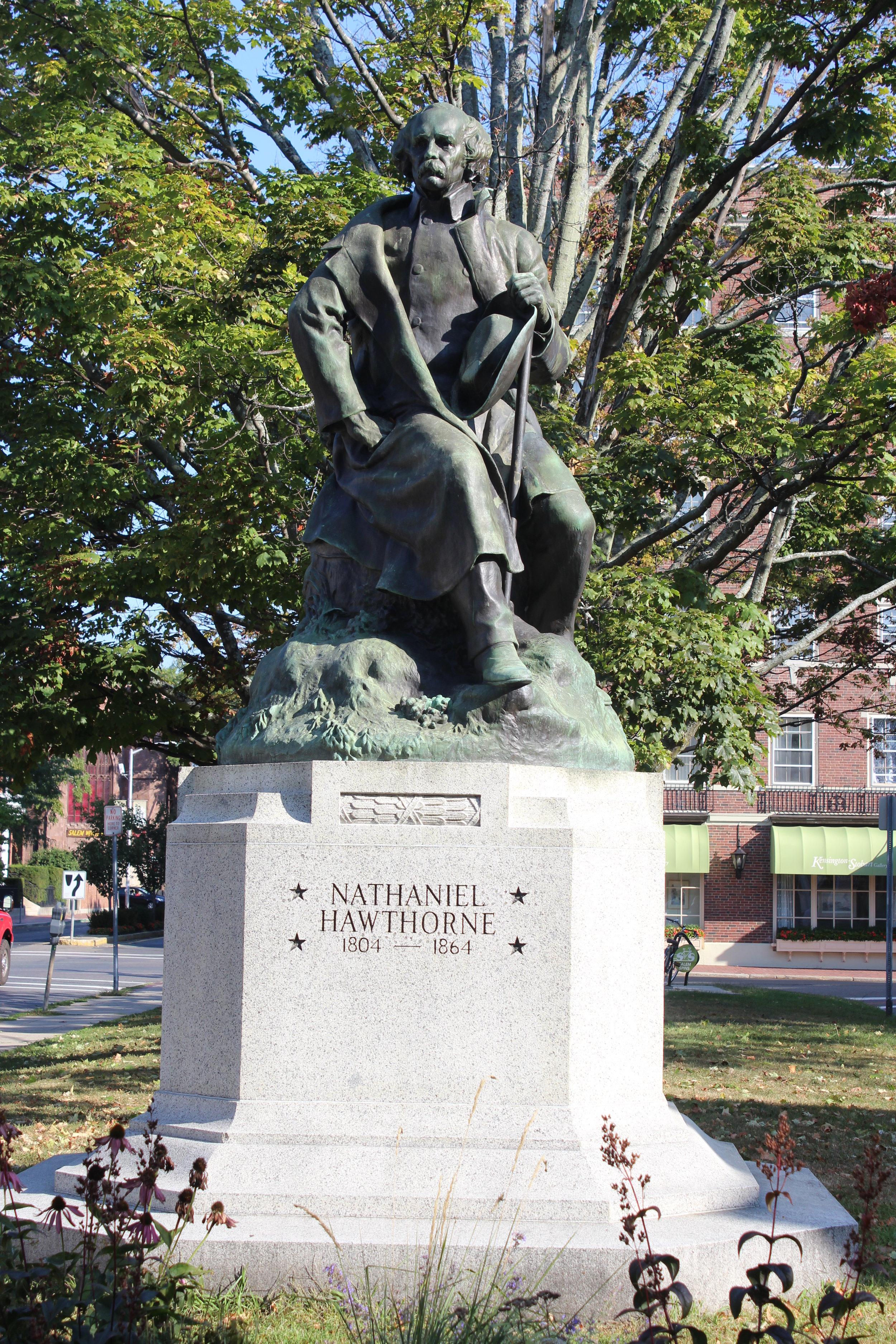 Nathaniel Hawthorne Statue