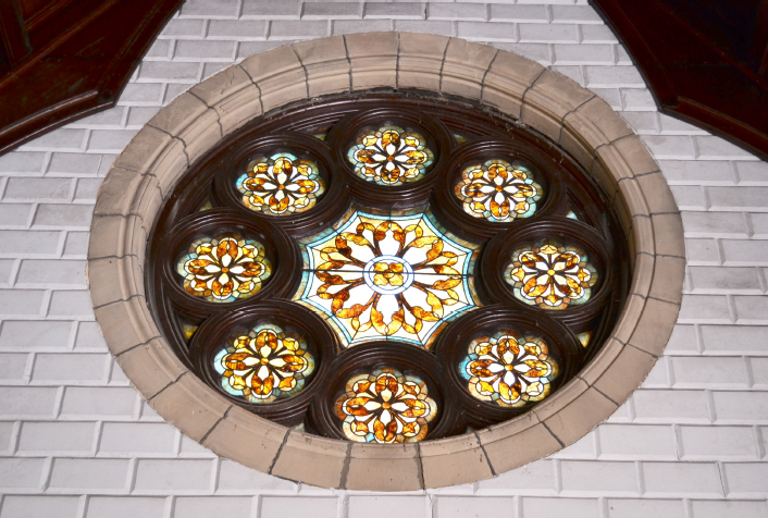 Interior East Rose Window Before.png